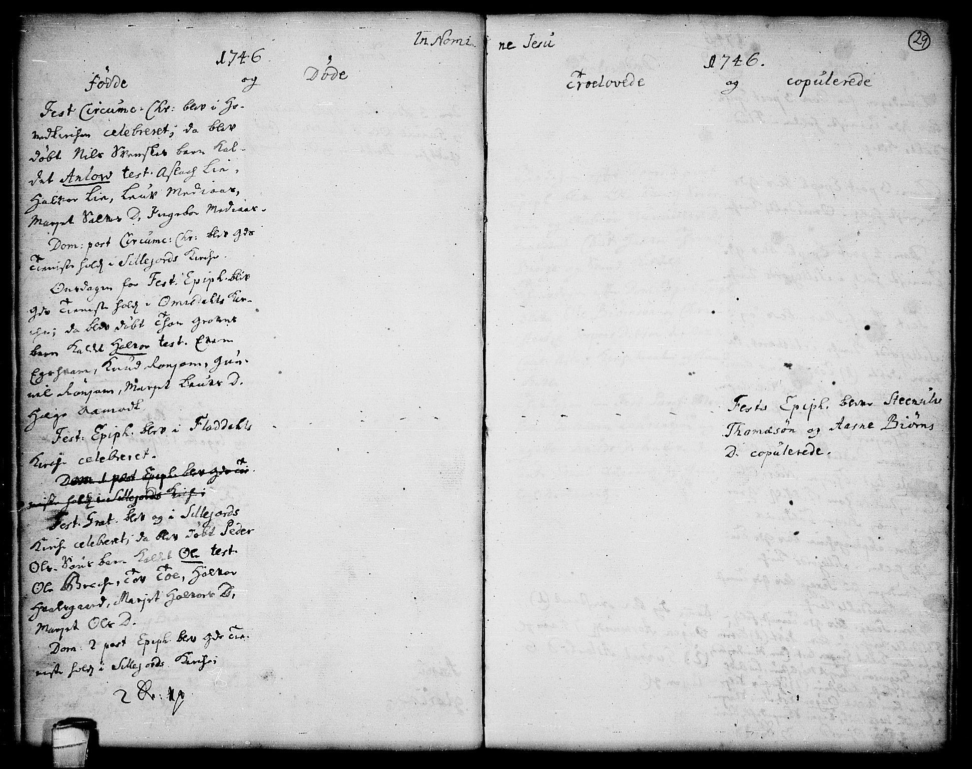 SAKO, Seljord kirkebøker, F/Fa/L0006: Ministerialbok nr. I 6, 1744-1755, s. 29