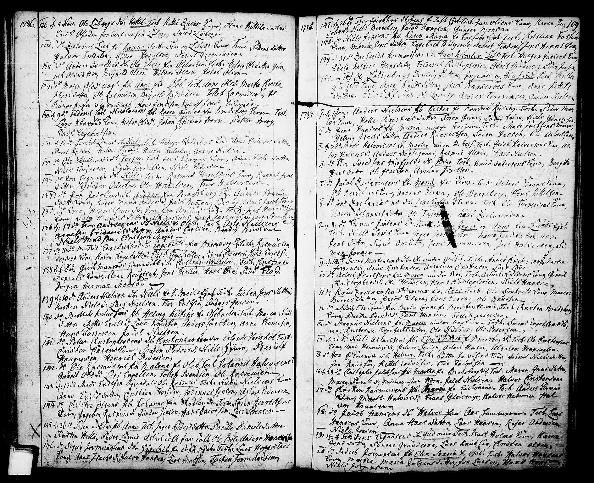 SAKO, Gjerpen kirkebøker, F/Fa/L0002: Ministerialbok nr. 2, 1747-1795, s. 109