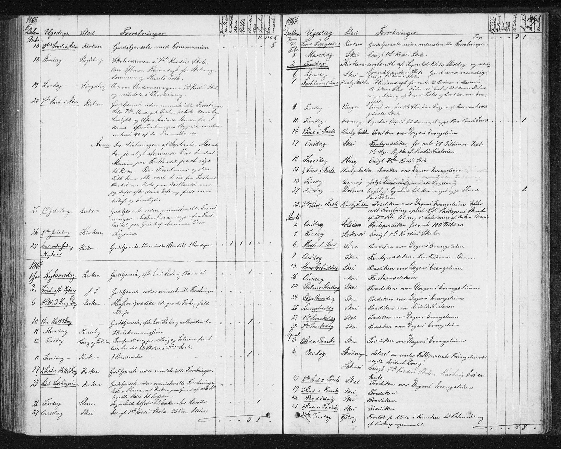 SAT, Ministerialprotokoller, klokkerbøker og fødselsregistre - Nord-Trøndelag, 788/L0696: Ministerialbok nr. 788A03, 1863-1877, s. 179