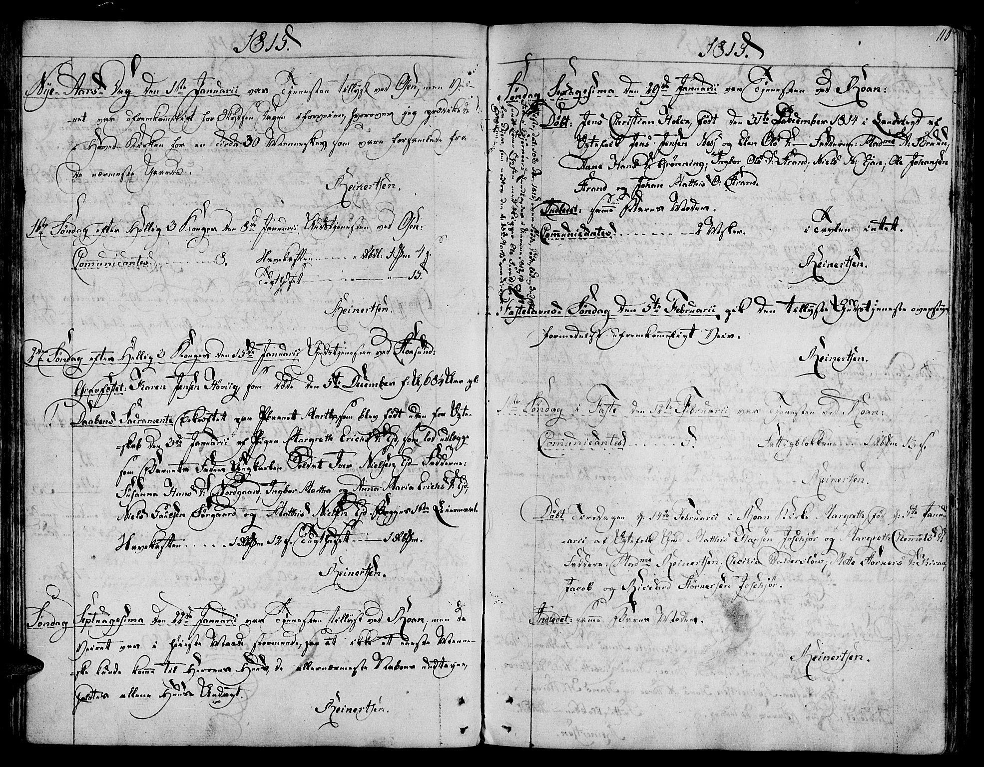 SAT, Ministerialprotokoller, klokkerbøker og fødselsregistre - Sør-Trøndelag, 657/L0701: Ministerialbok nr. 657A02, 1802-1831, s. 110