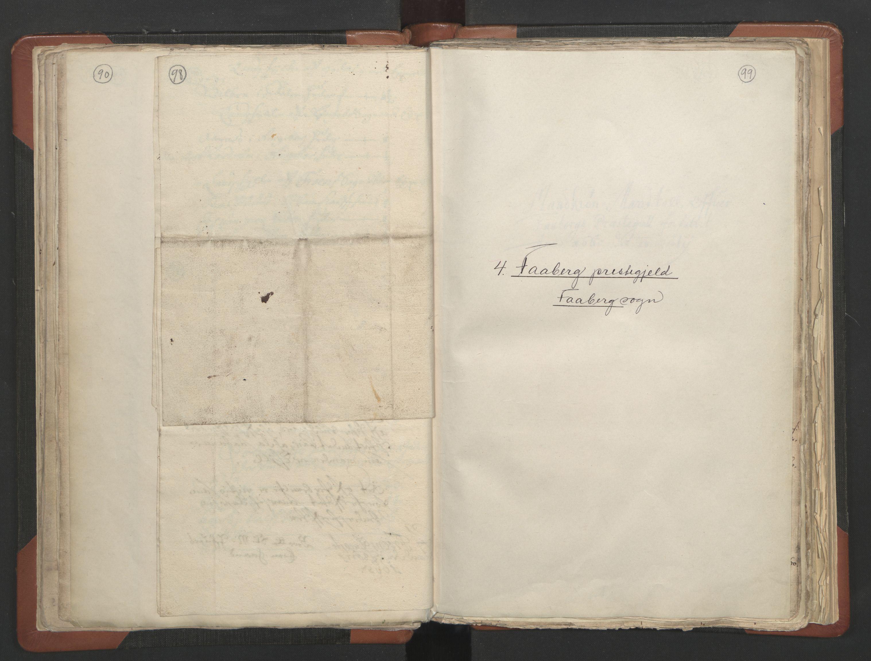 RA, Sogneprestenes manntall 1664-1666, nr. 6: Gudbrandsdal prosti, 1664-1666, s. 98-99