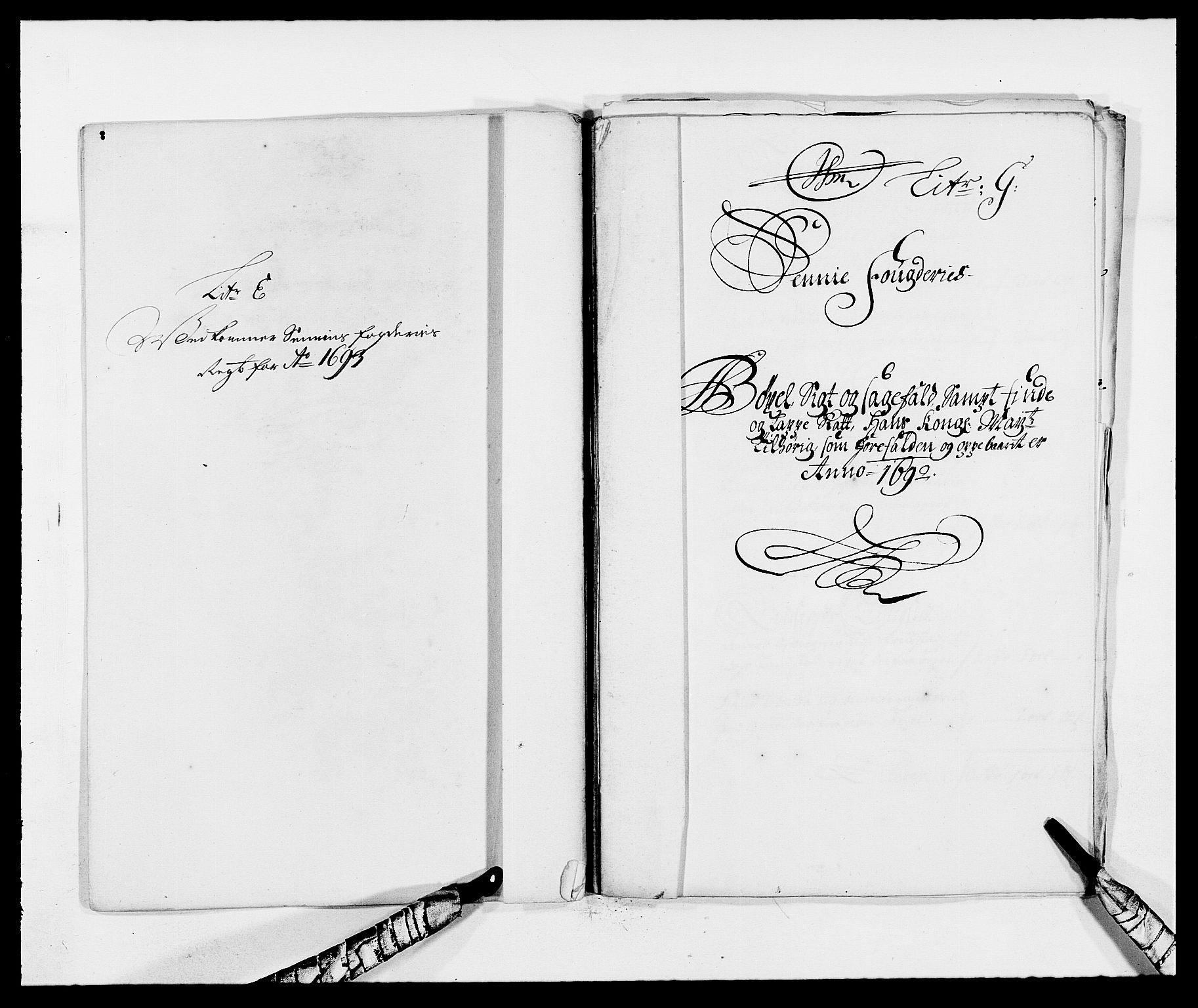 RA, Rentekammeret inntil 1814, Reviderte regnskaper, Fogderegnskap, R68/L4752: Fogderegnskap Senja og Troms, 1691-1693, s. 216