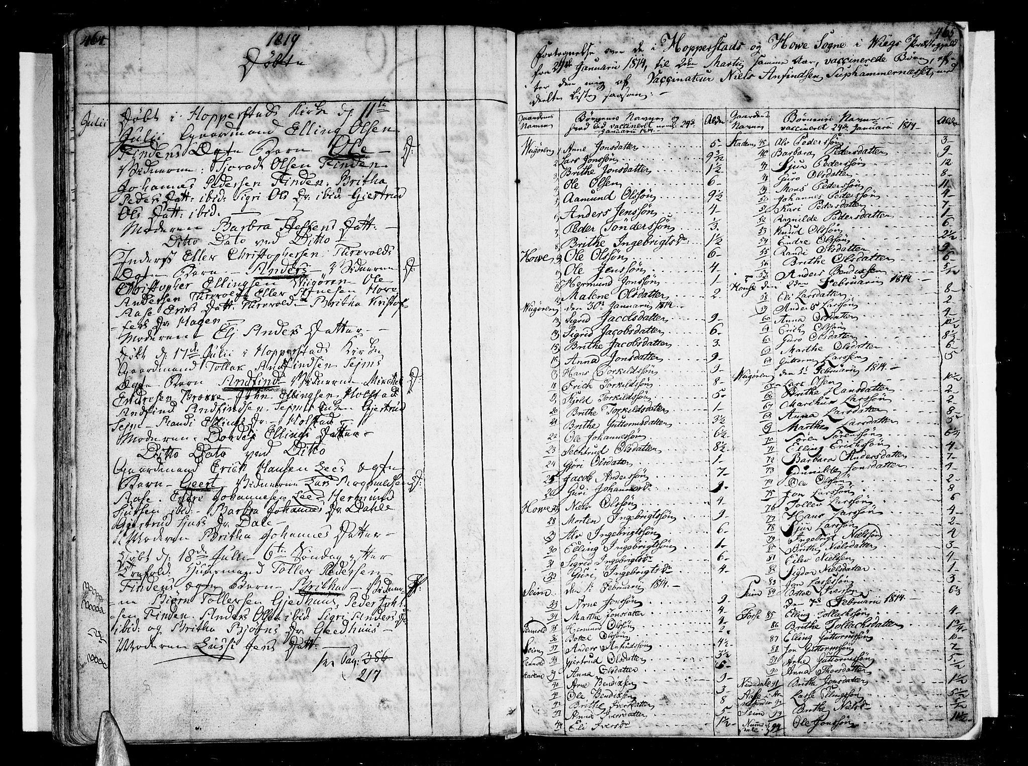 SAB, Vik Sokneprestembete, Ministerialbok nr. A 5, 1787-1820, s. 464-465