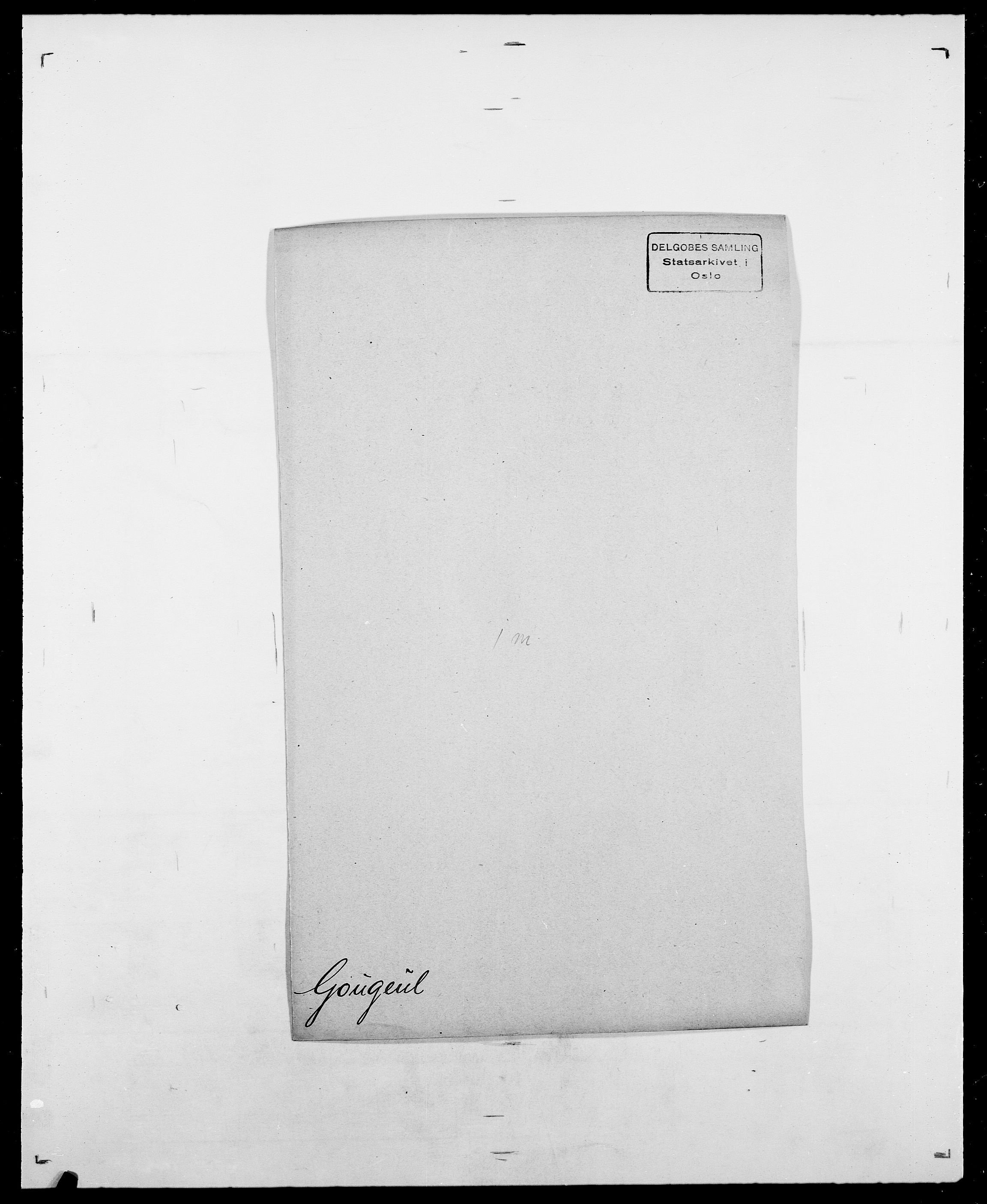 SAO, Delgobe, Charles Antoine - samling, D/Da/L0014: Giebdhausen - Grip, s. 420