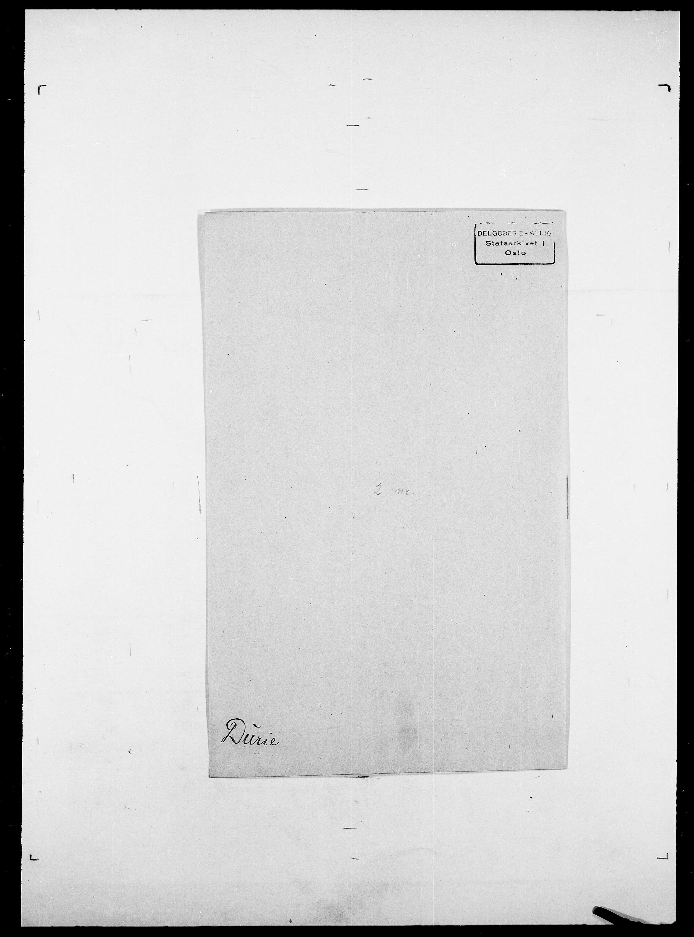 SAO, Delgobe, Charles Antoine - samling, D/Da/L0009: Dahl - v. Düren, s. 849