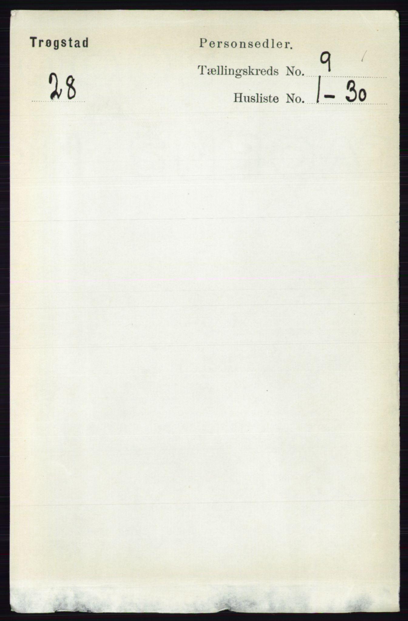 RA, Folketelling 1891 for 0122 Trøgstad herred, 1891, s. 3891