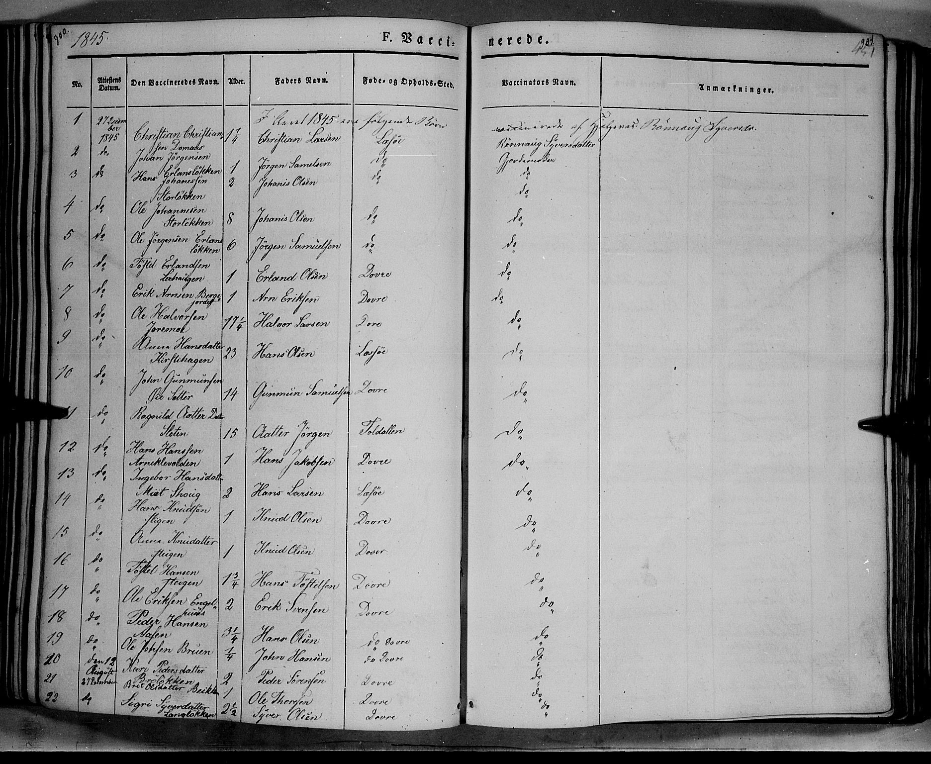 SAH, Lesja prestekontor, Ministerialbok nr. 6B, 1843-1854, s. 900-901
