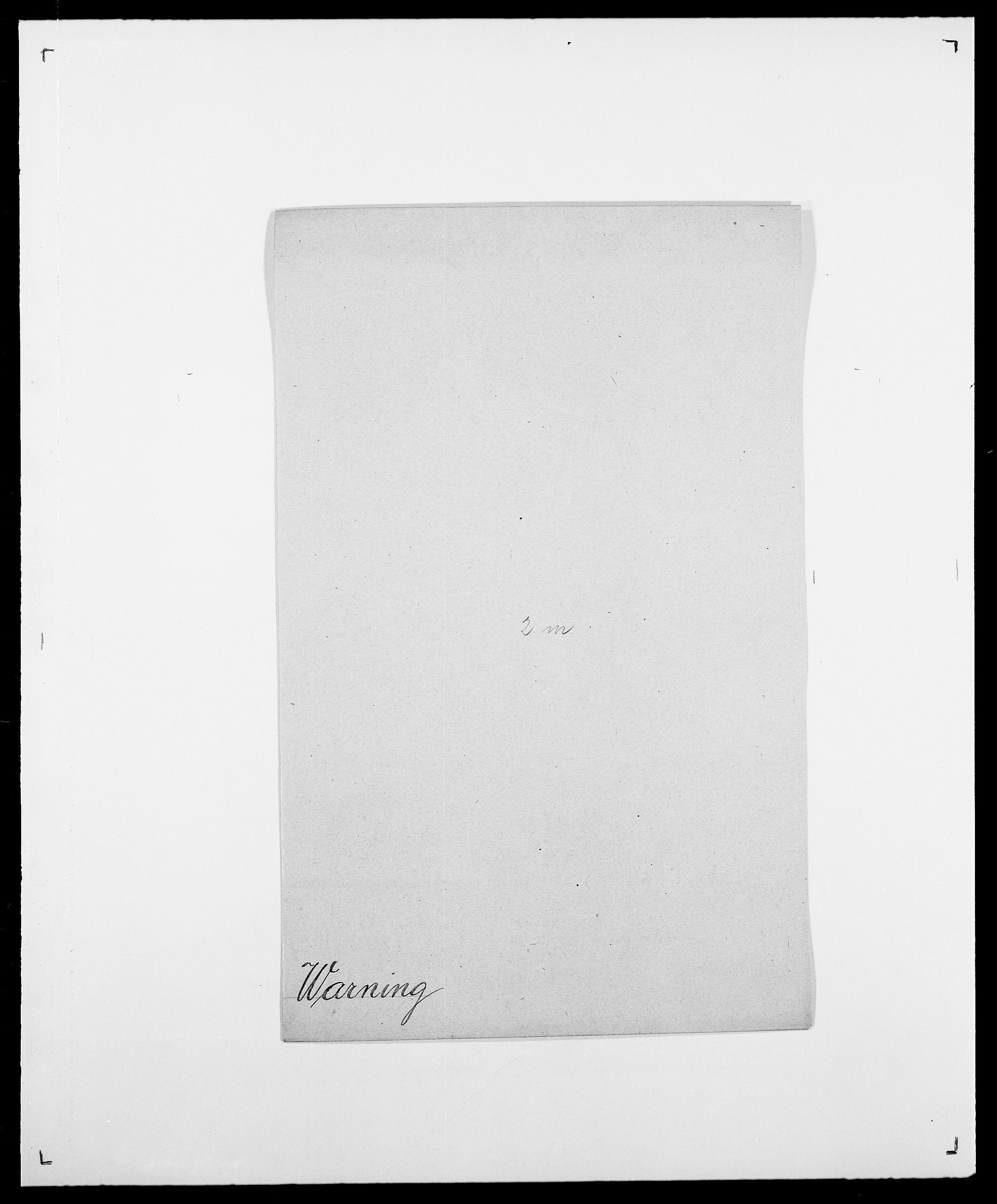 SAO, Delgobe, Charles Antoine - samling, D/Da/L0040: Usgaard - Velund, s. 337