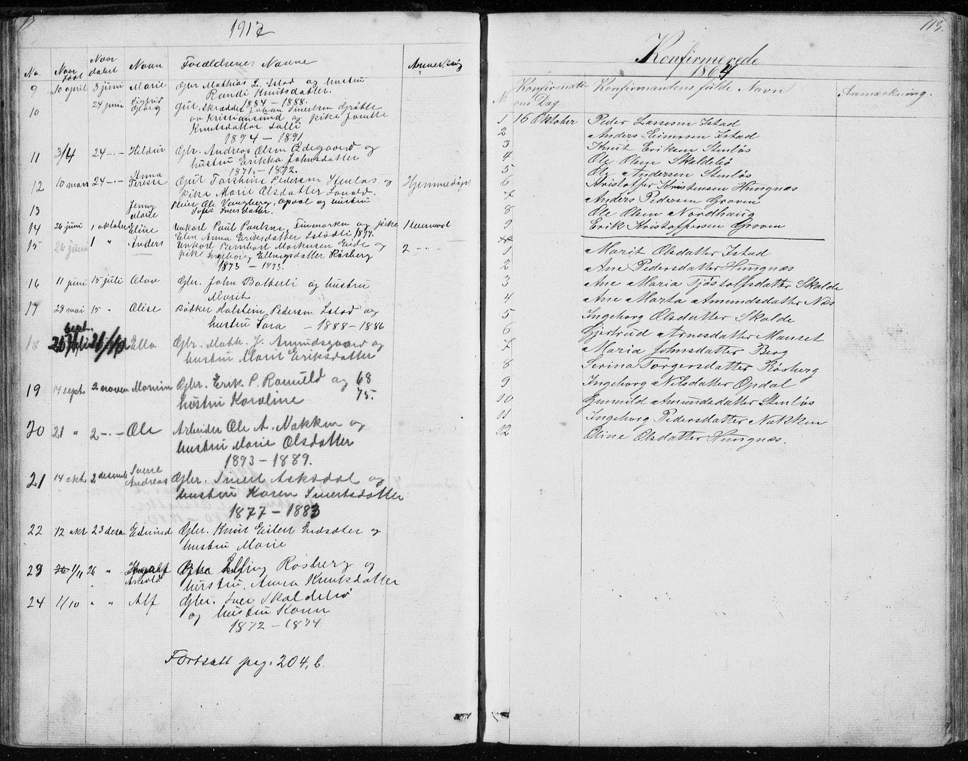 SAT, Ministerialprotokoller, klokkerbøker og fødselsregistre - Møre og Romsdal, 557/L0684: Klokkerbok nr. 557C02, 1863-1944, s. 113