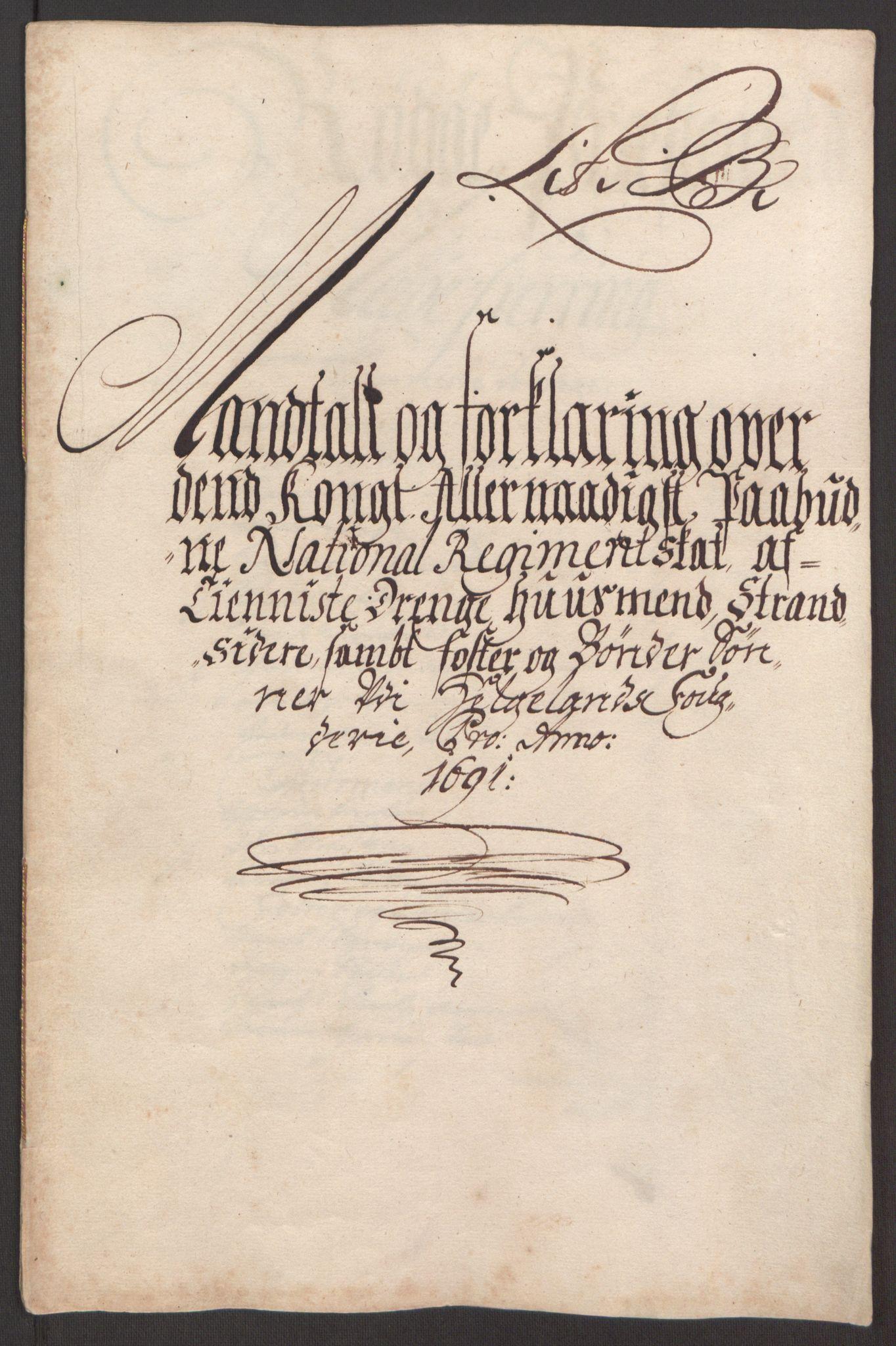 RA, Rentekammeret inntil 1814, Reviderte regnskaper, Fogderegnskap, R65/L4504: Fogderegnskap Helgeland, 1691-1692, s. 74