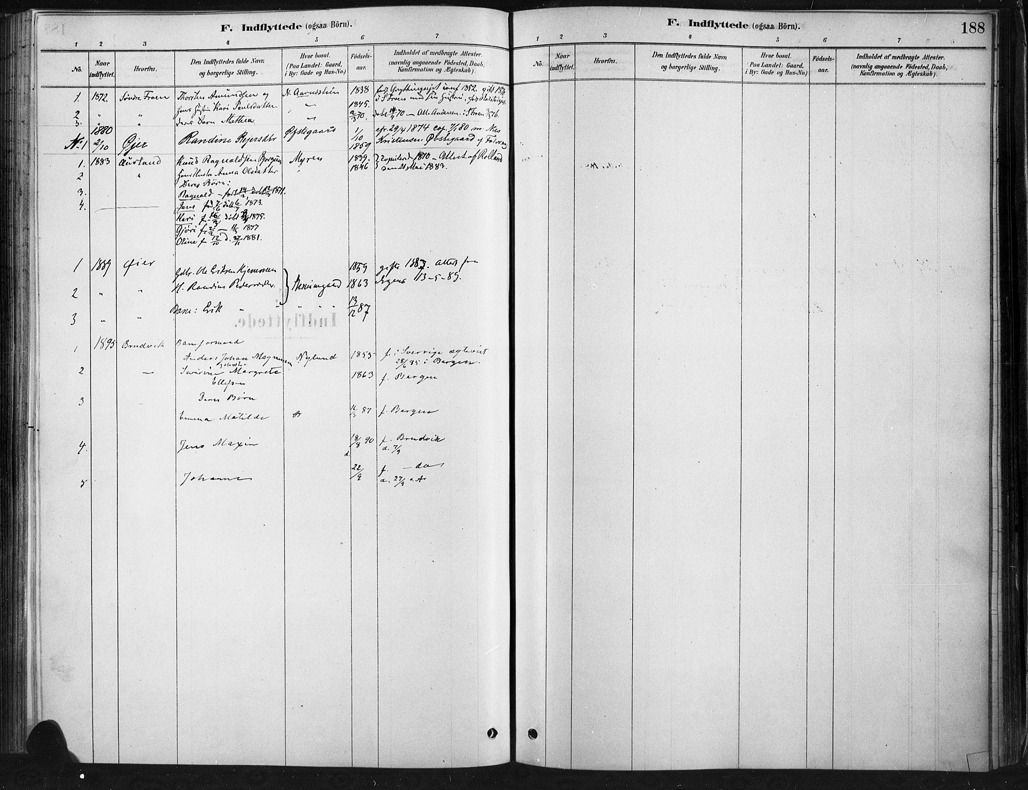 SAH, Ringebu prestekontor, Ministerialbok nr. 9, 1878-1898, s. 188