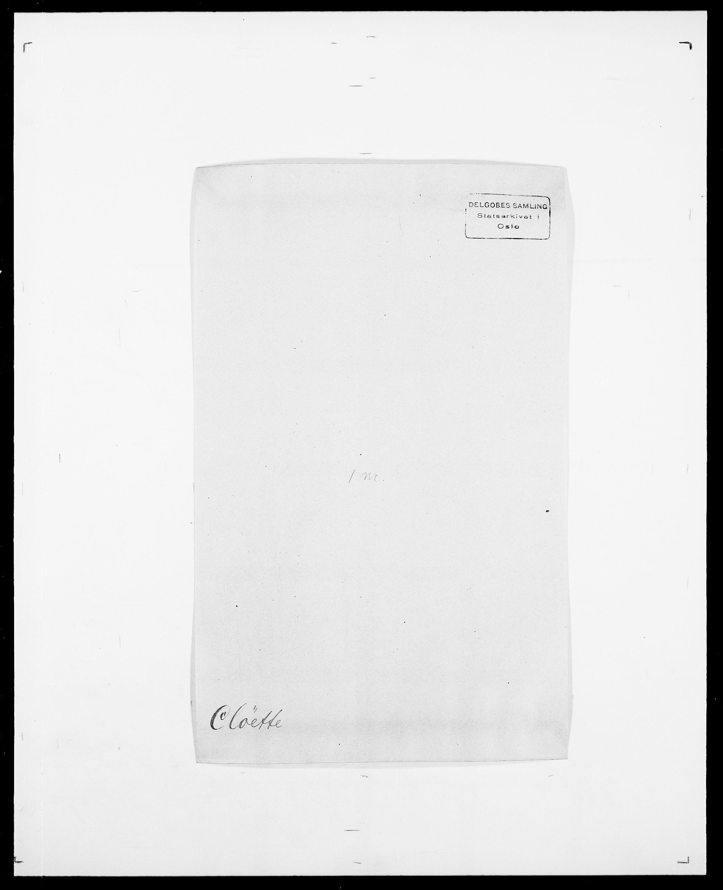 SAO, Delgobe, Charles Antoine - samling, D/Da/L0008: Capjon - Dagenbolt, s. 393