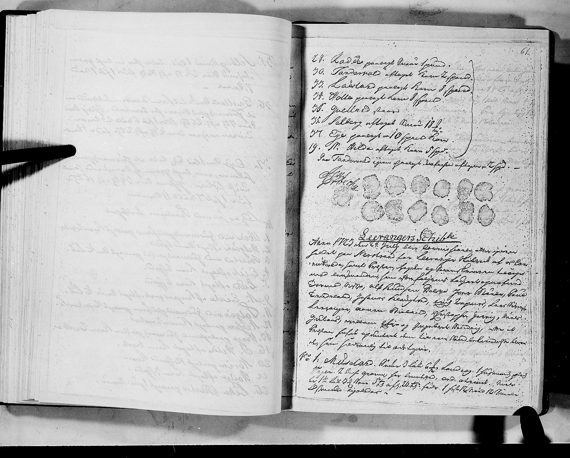 RA, Rentekammeret inntil 1814, Realistisk ordnet avdeling, N/Nb/Nbf/L0133a: Ryfylke eksaminasjonsprotokoll, 1723, s. 61a
