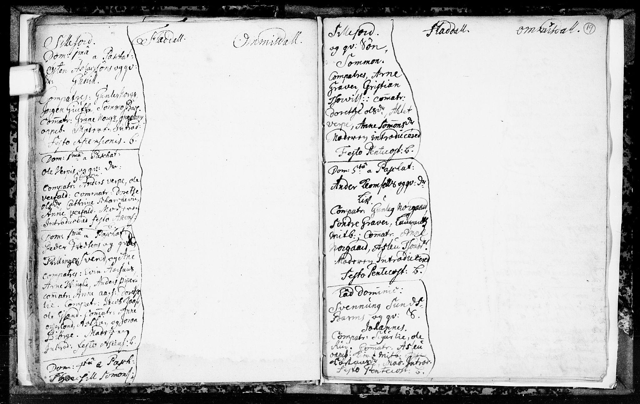 SAKO, Seljord kirkebøker, F/Fa/L0003: Ministerialbok nr. I 3, 1714-1725, s. 19