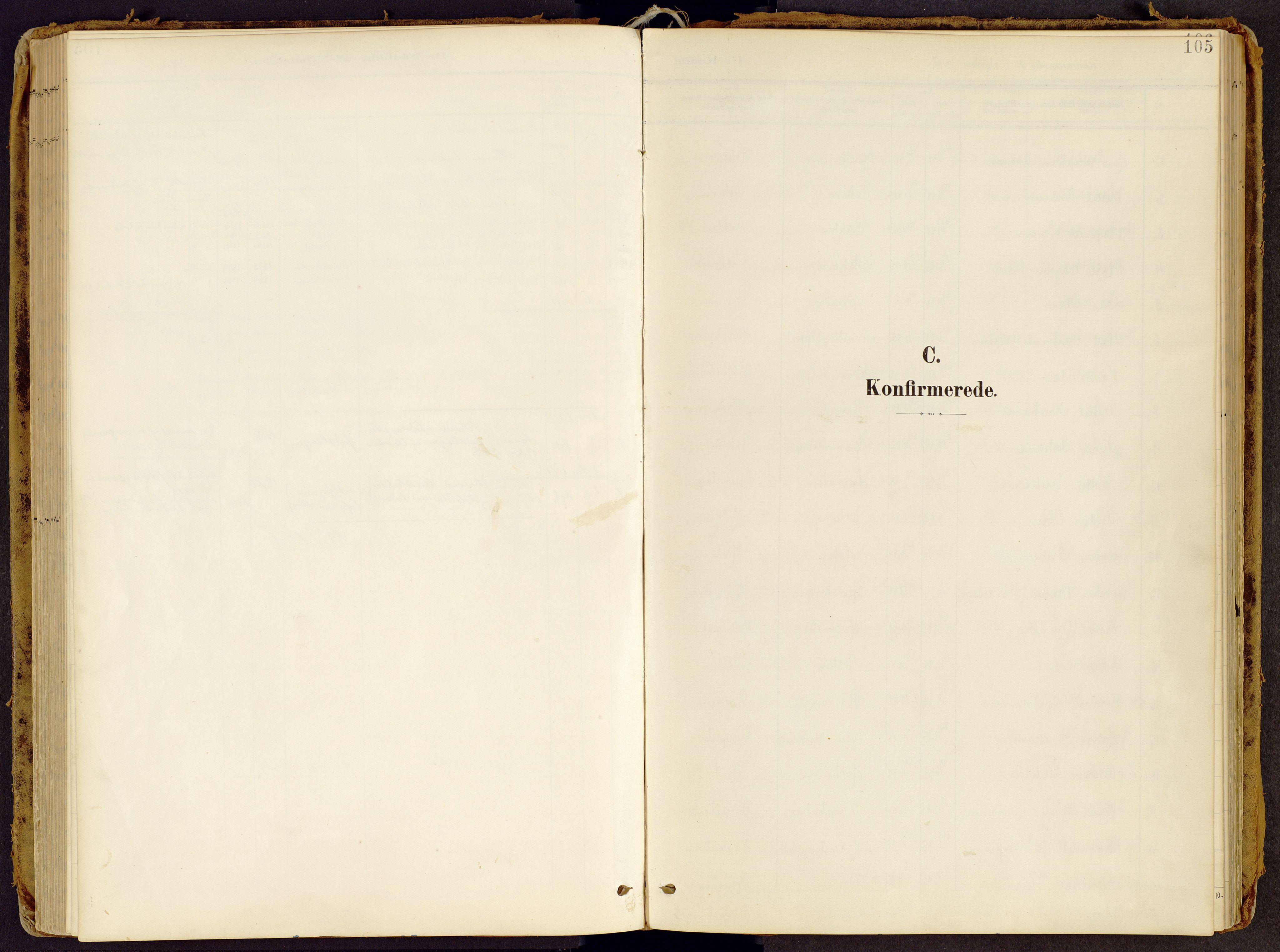 SAH, Brandbu prestekontor, Ministerialbok nr. 2, 1899-1914, s. 105