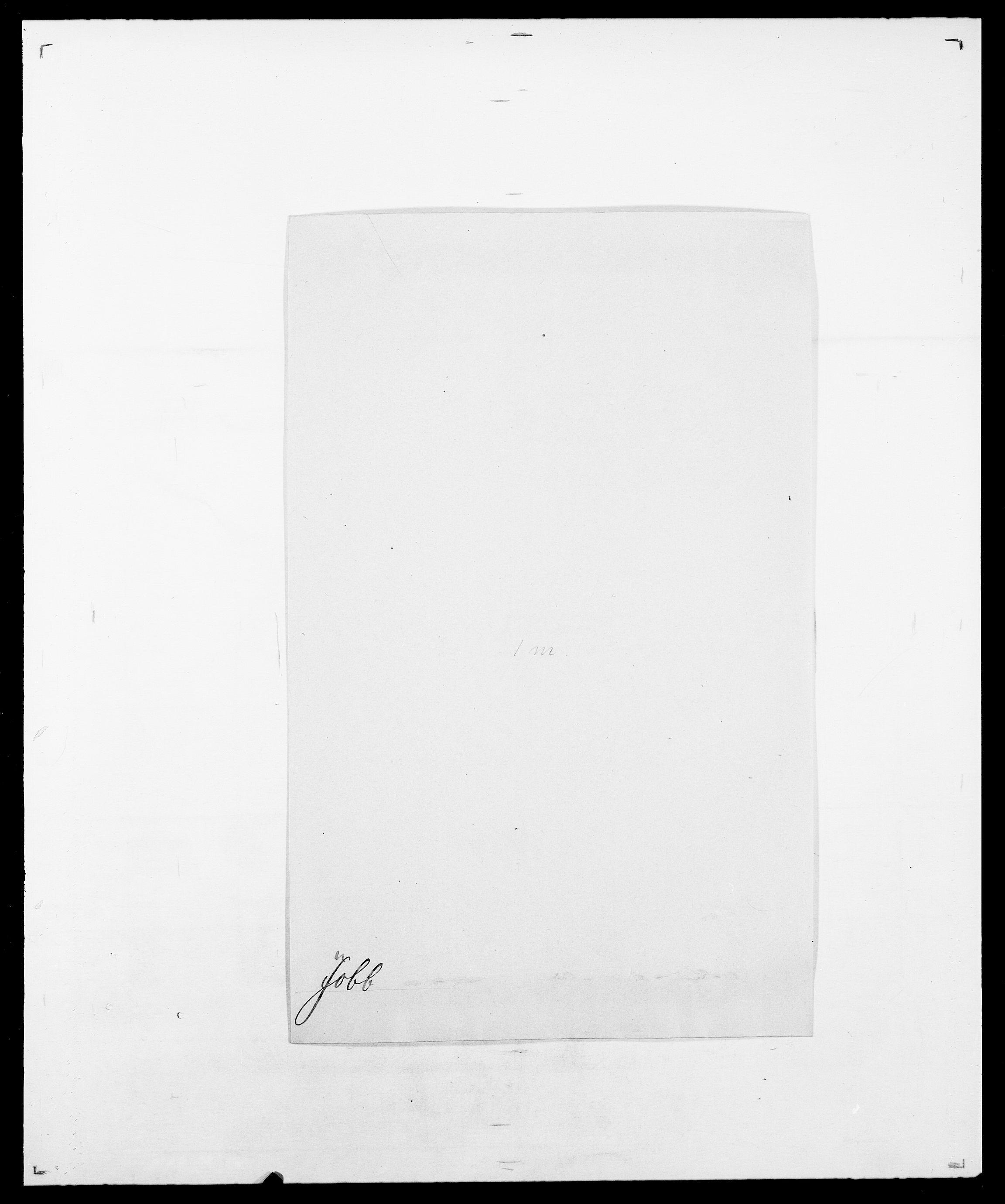 SAO, Delgobe, Charles Antoine - samling, D/Da/L0019: van der Hude - Joys, s. 806