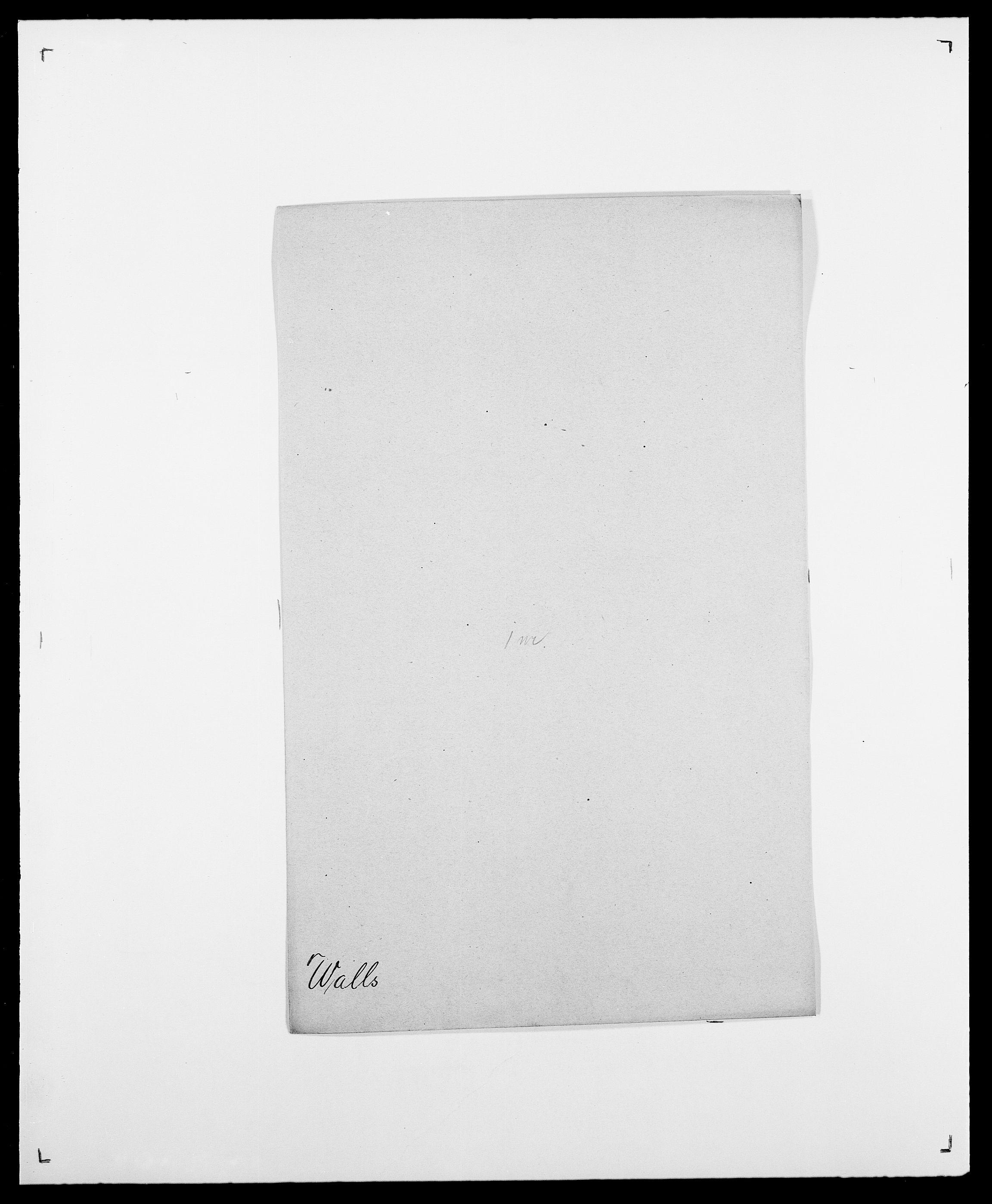 SAO, Delgobe, Charles Antoine - samling, D/Da/L0040: Usgaard - Velund, s. 186