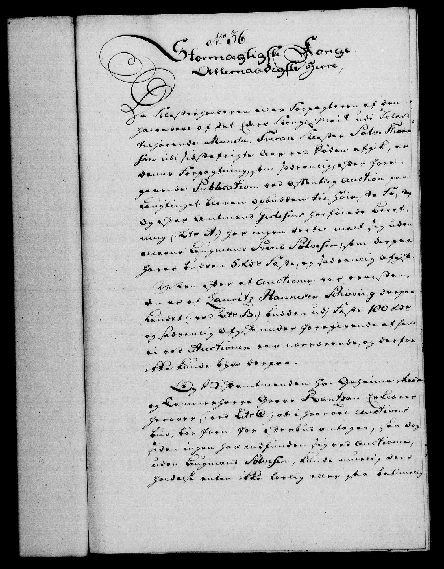 RA, Rentekammeret, Kammerkanselliet, G/Gf/Gfa/L0042: Norsk relasjons- og resolusjonsprotokoll (merket RK 52.42), 1760, s. 156
