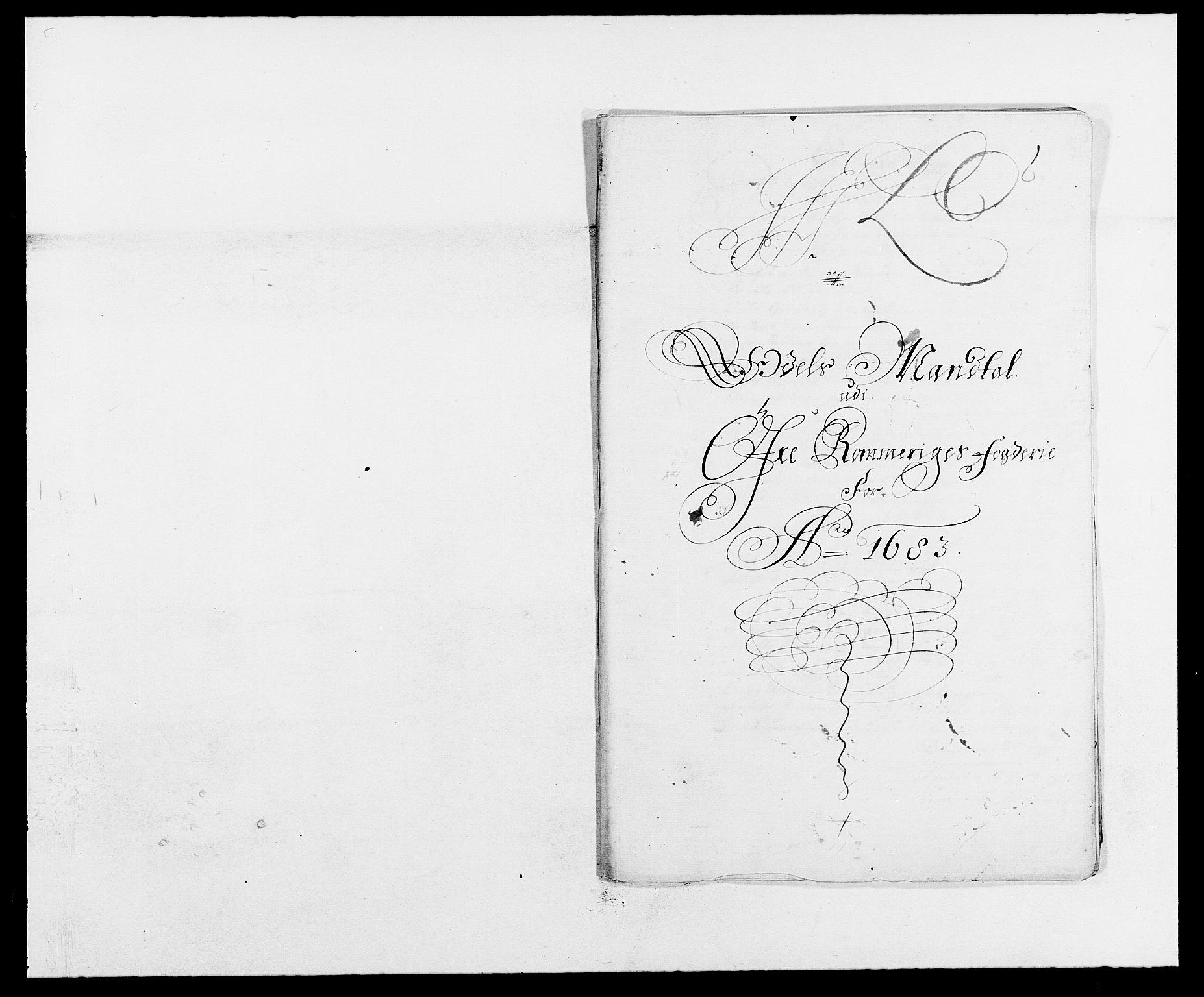 RA, Rentekammeret inntil 1814, Reviderte regnskaper, Fogderegnskap, R12/L0697: Fogderegnskap Øvre Romerike, 1682-1683, s. 298