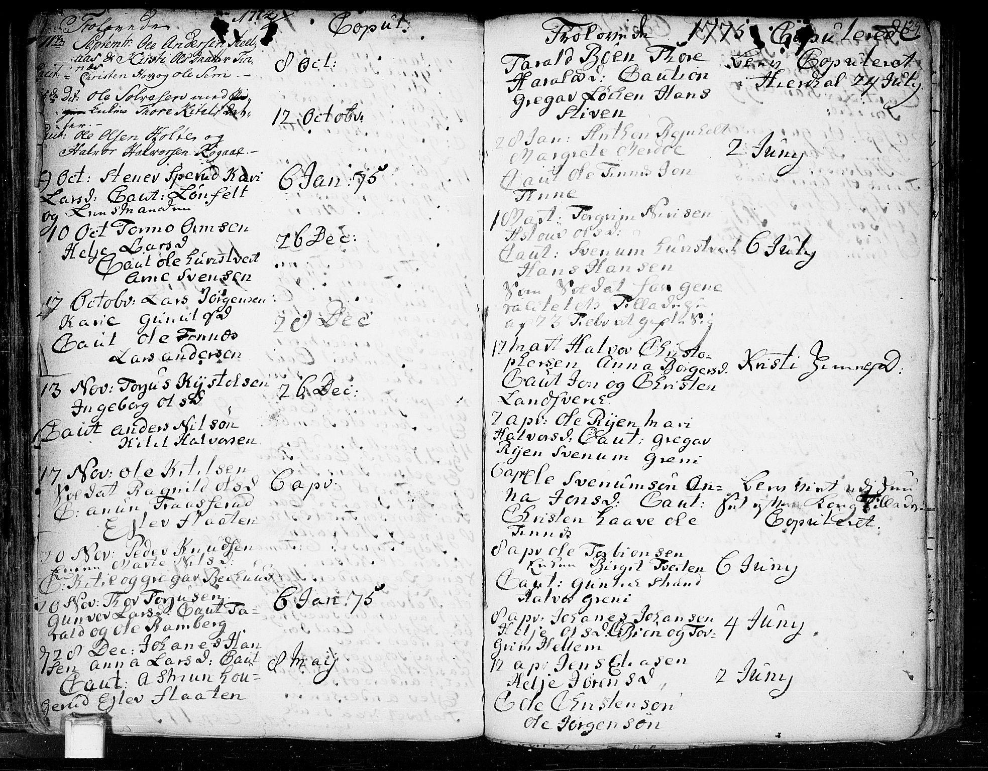 SAKO, Heddal kirkebøker, F/Fa/L0003: Ministerialbok nr. I 3, 1723-1783, s. 129