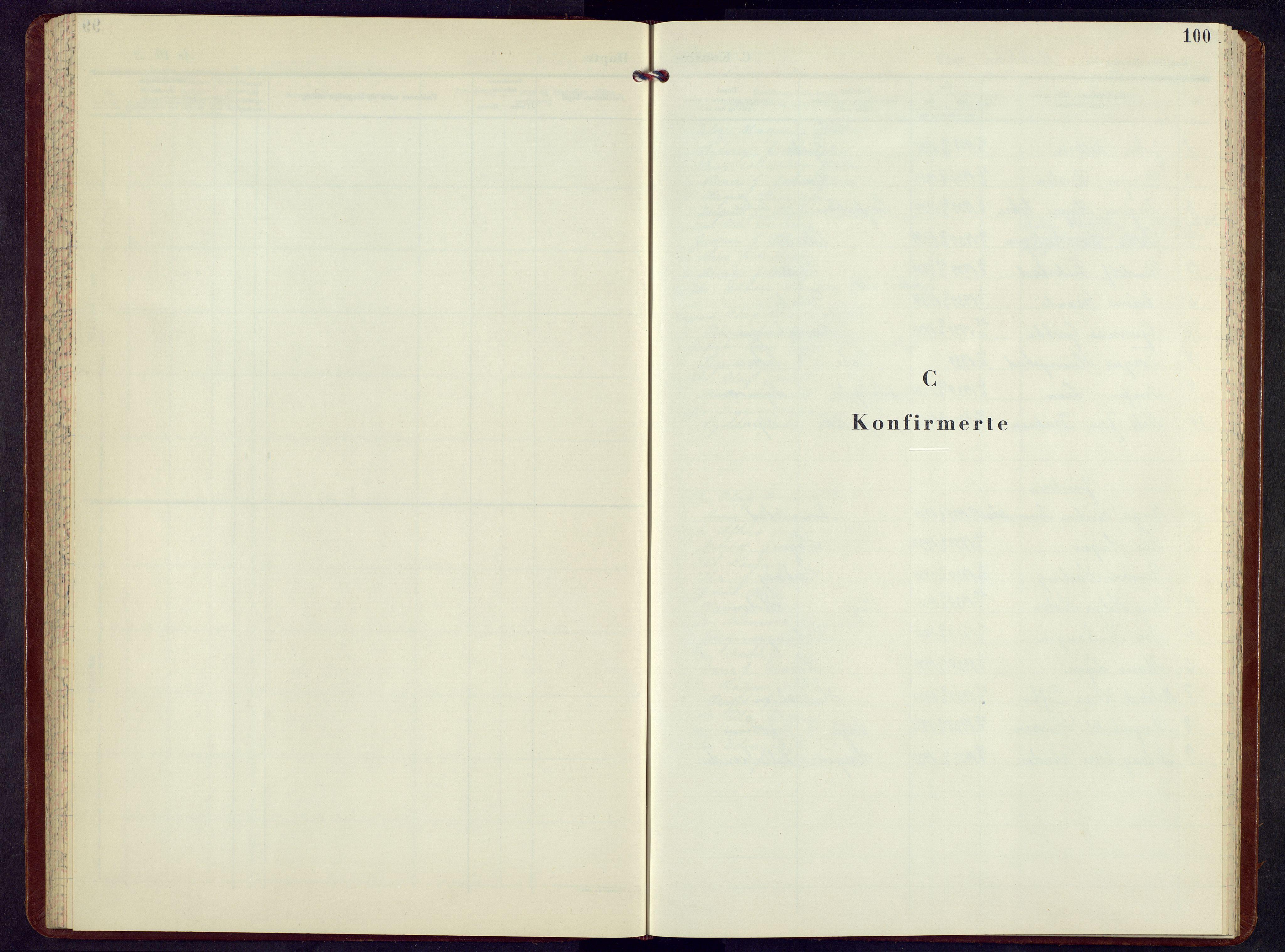 SAH, Sel prestekontor, Klokkerbok nr. 7, 1953-1973, s. 100