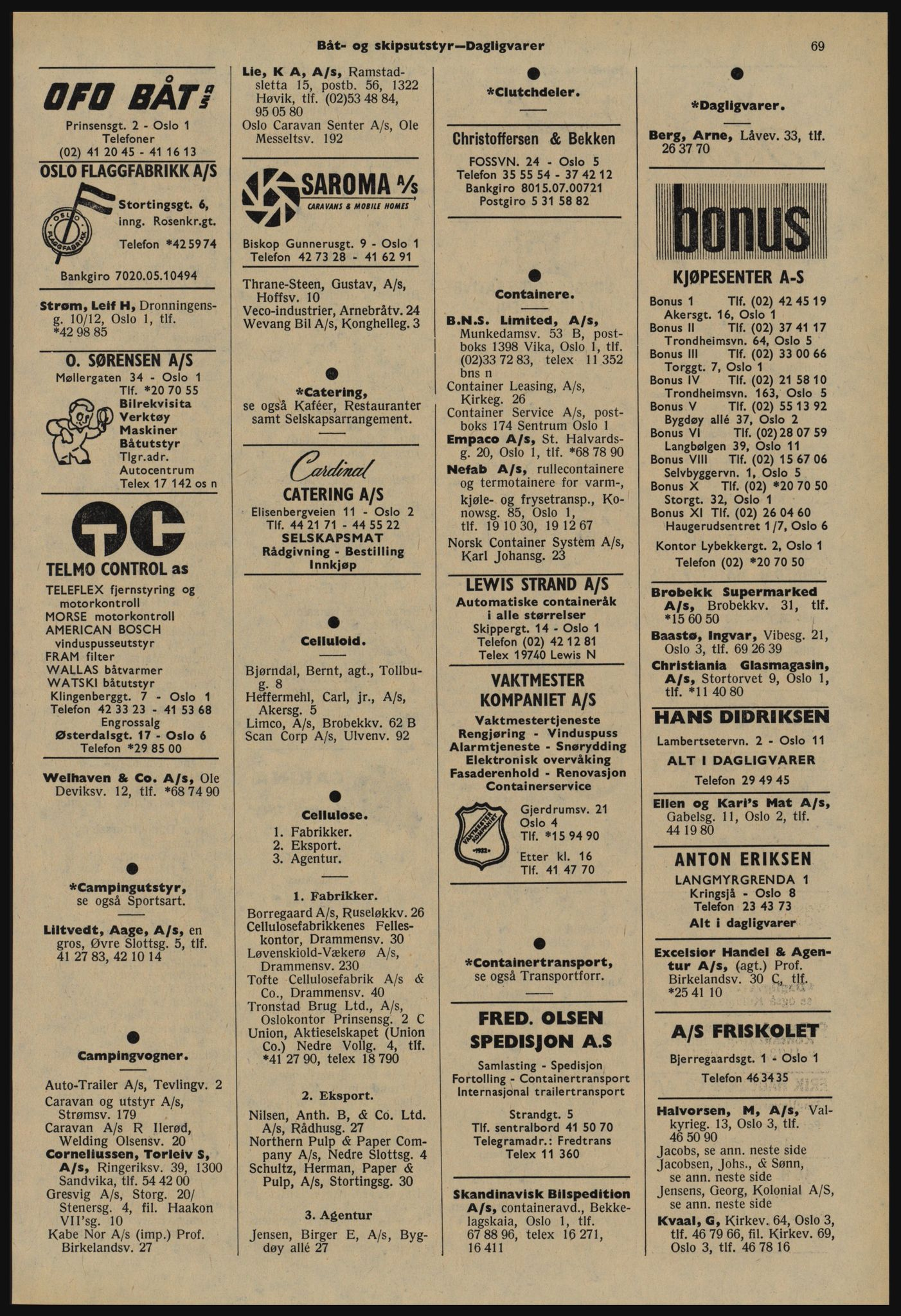 PUBL, Kristiania/Oslo adressebok, 1978-1979, s. 69