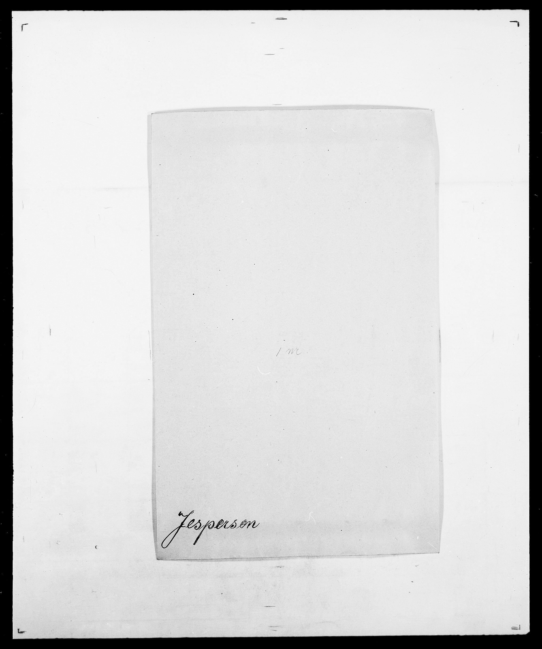 SAO, Delgobe, Charles Antoine - samling, D/Da/L0019: van der Hude - Joys, s. 722