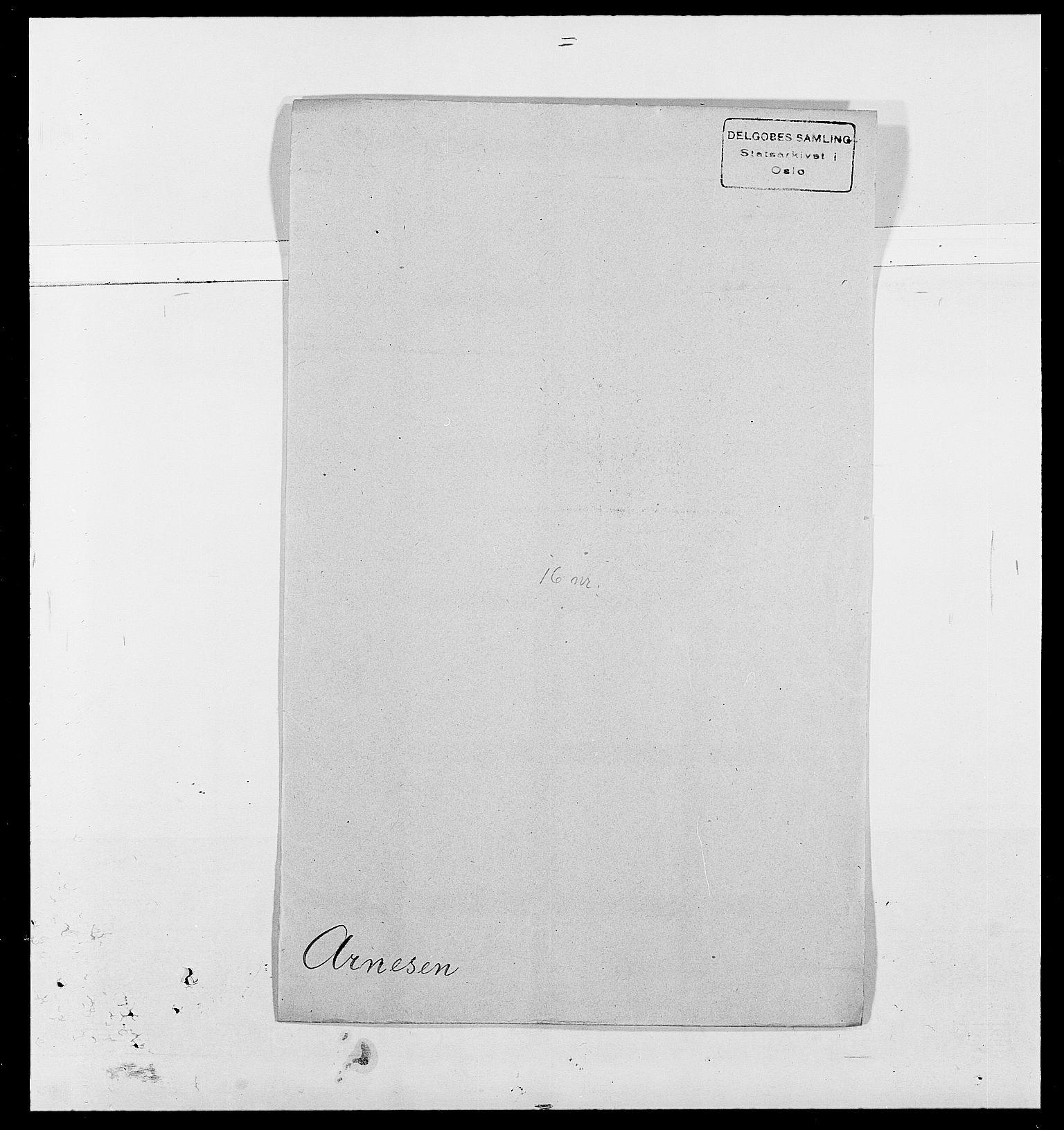 SAO, Delgobe, Charles Antoine - samling, D/Da/L0002: Anker, Ancher - Bauner, s. 329