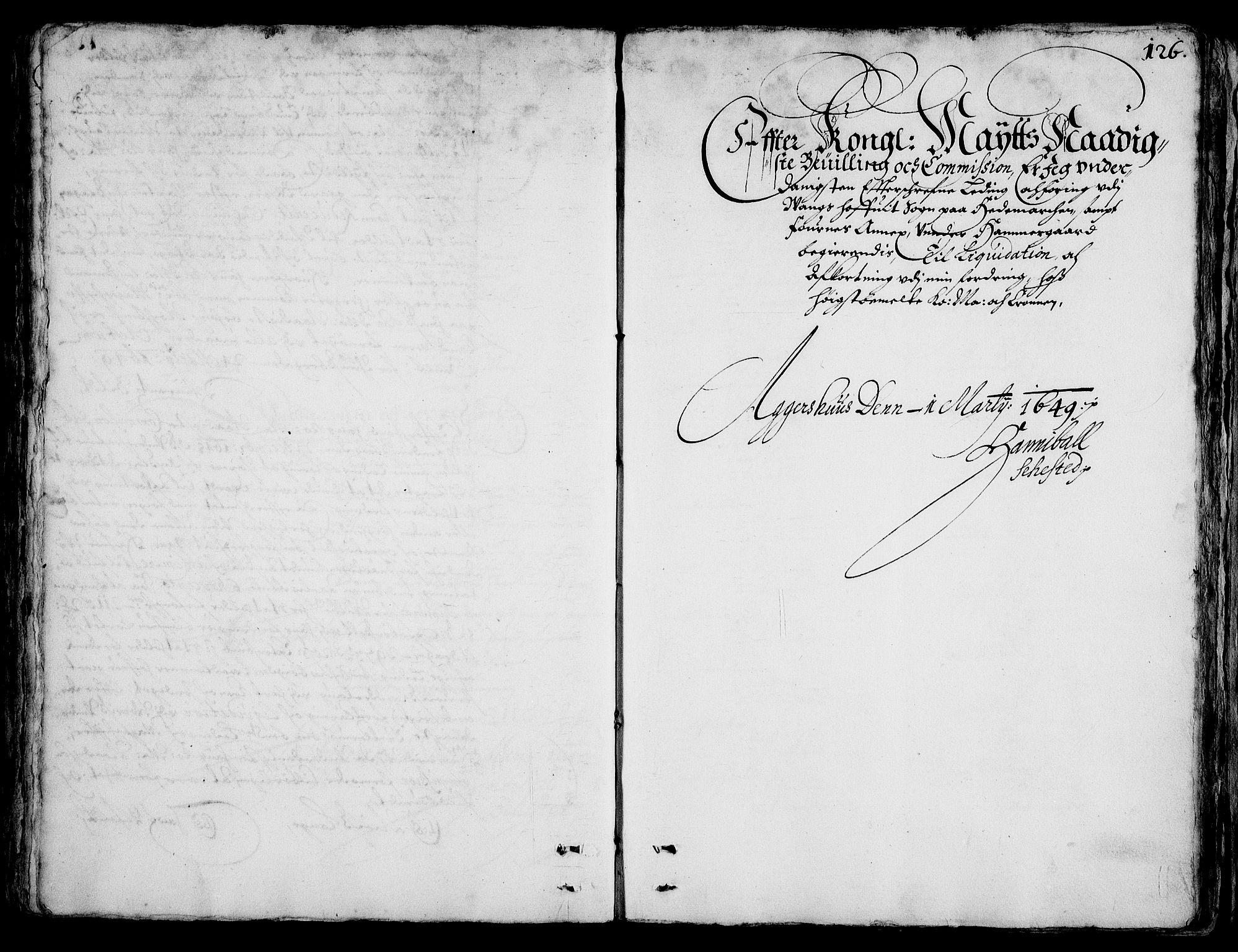 RA, Rentekammeret inntil 1814, Realistisk ordnet avdeling, On/L0001: Statens gods, 1651, s. 125b-126a