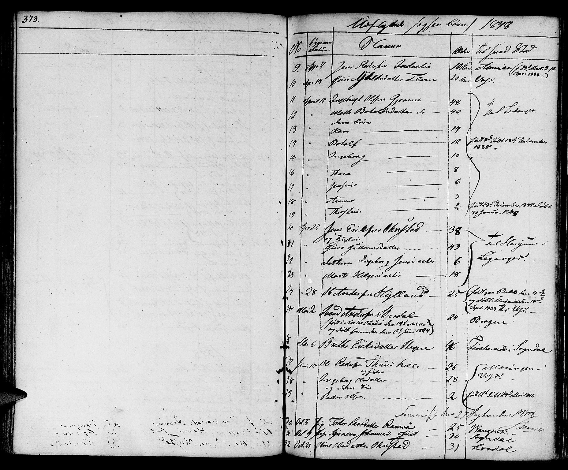 SAB, Aurland Sokneprestembete*, Ministerialbok nr. A 6, 1821-1859, s. 373