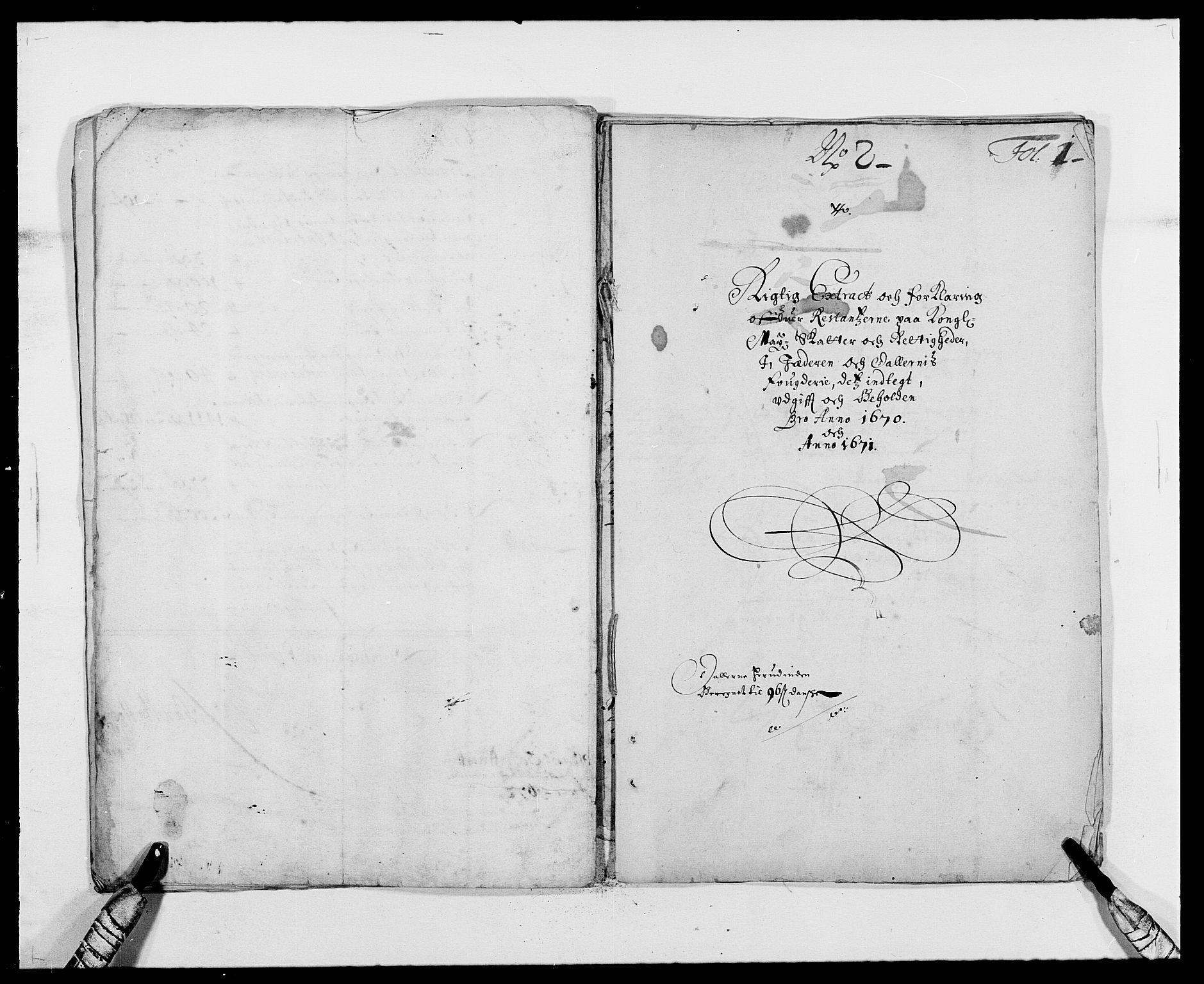 RA, Rentekammeret inntil 1814, Reviderte regnskaper, Fogderegnskap, R46/L2713: Fogderegnskap Jæren og Dalane, 1671-1672, s. 189