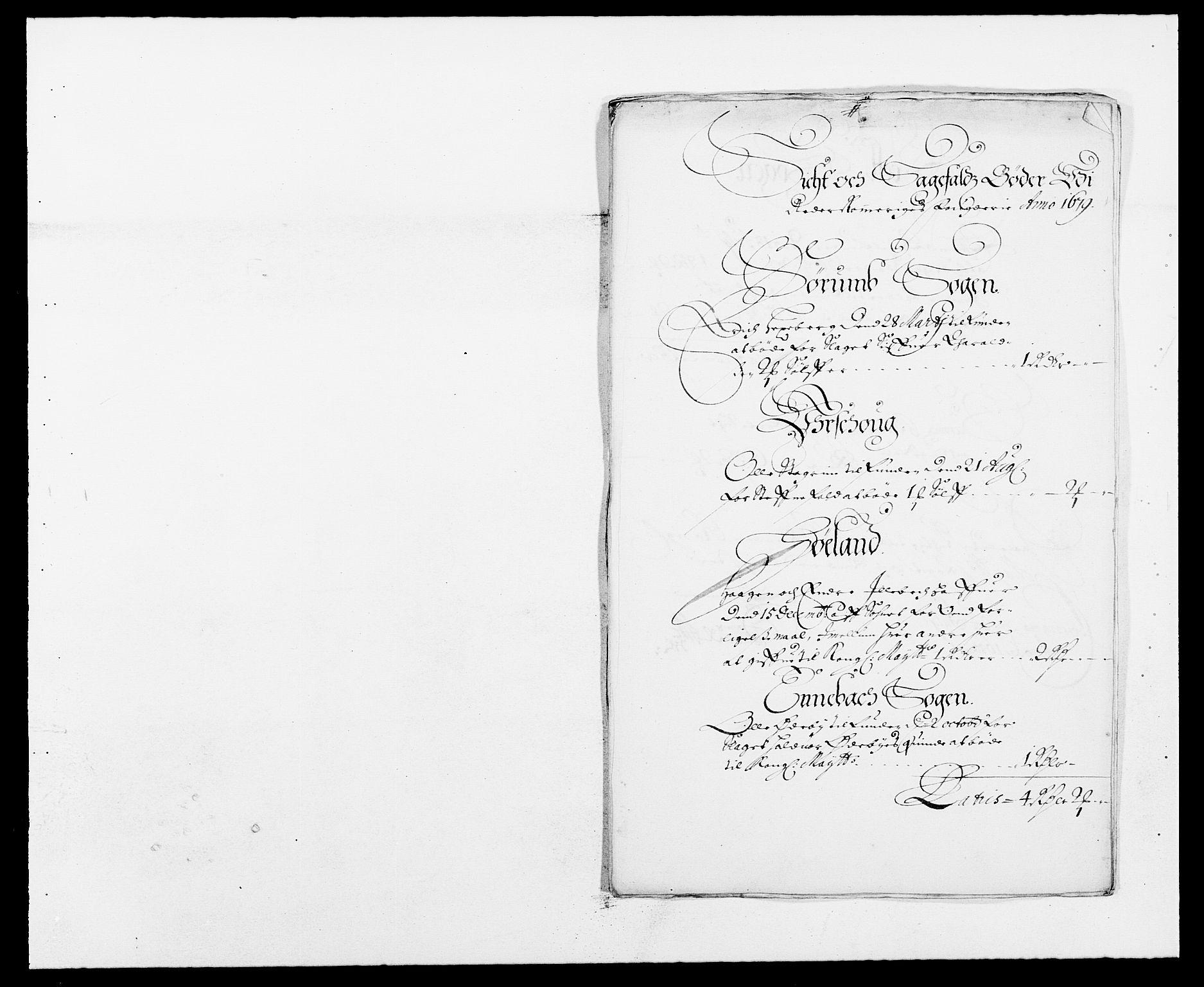 RA, Rentekammeret inntil 1814, Reviderte regnskaper, Fogderegnskap, R11/L0568: Fogderegnskap Nedre Romerike, 1679, s. 226