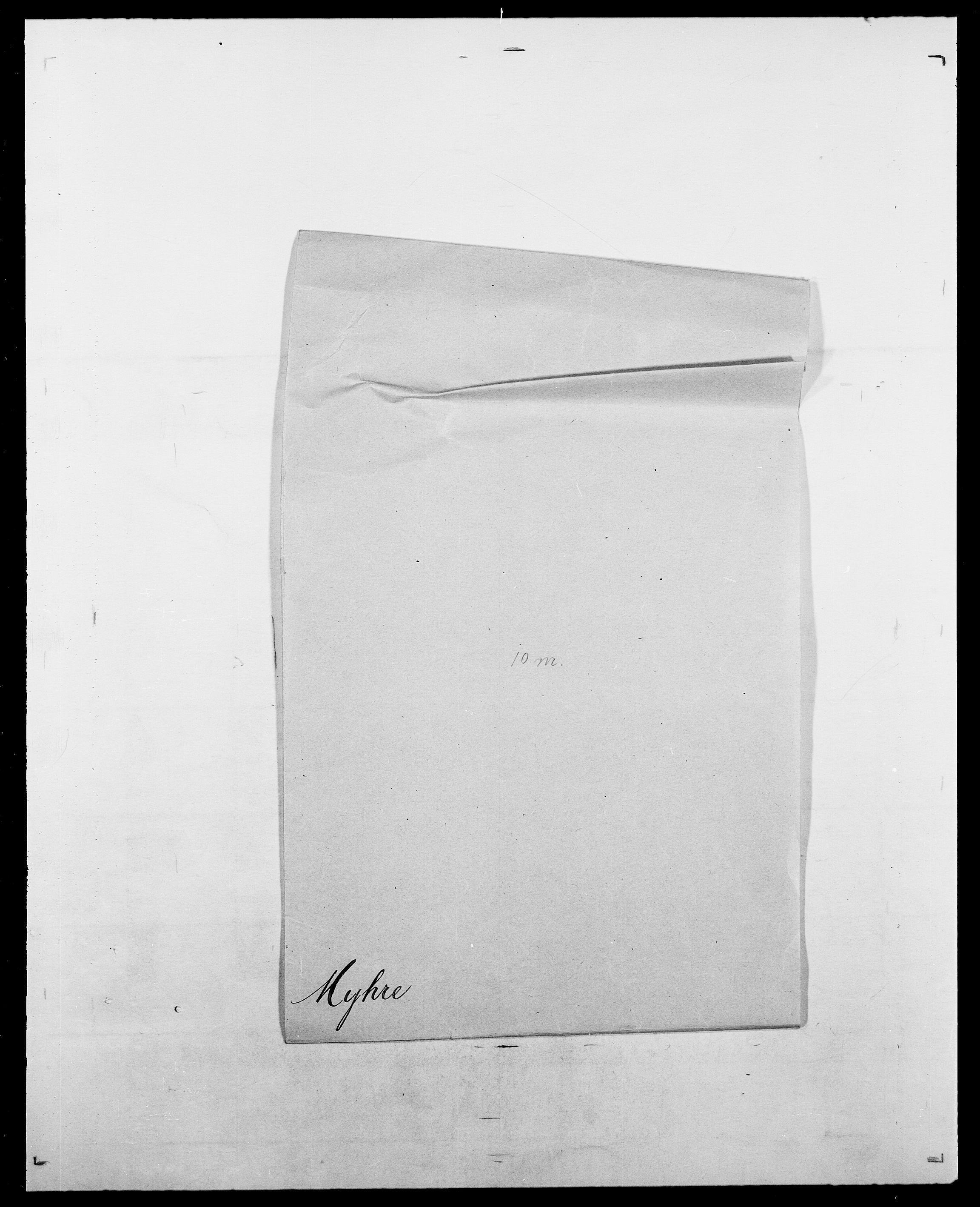 SAO, Delgobe, Charles Antoine - samling, D/Da/L0027: Morath - v. Møsting, s. 337