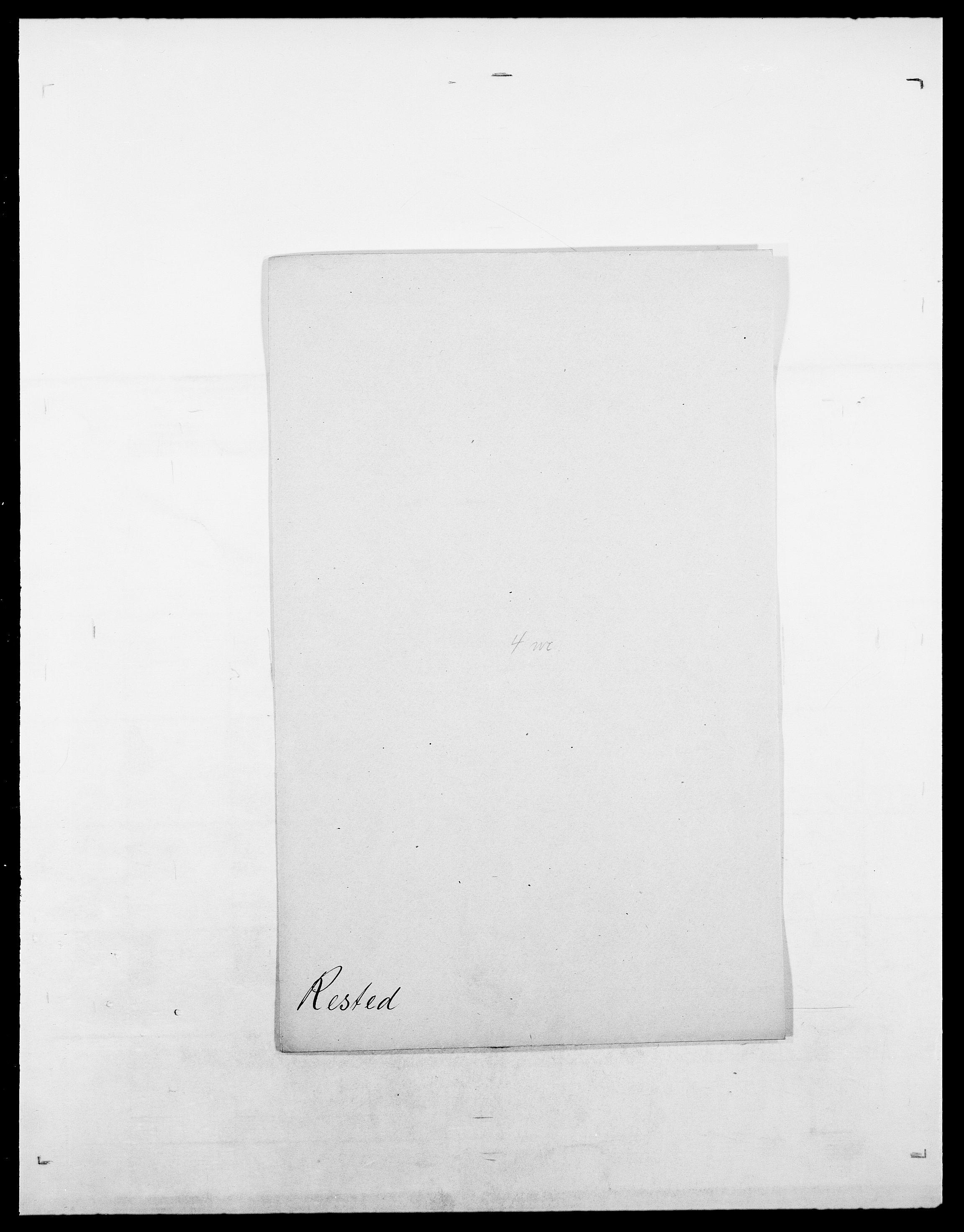 SAO, Delgobe, Charles Antoine - samling, D/Da/L0032: Rabakovsky - Rivertz, s. 436
