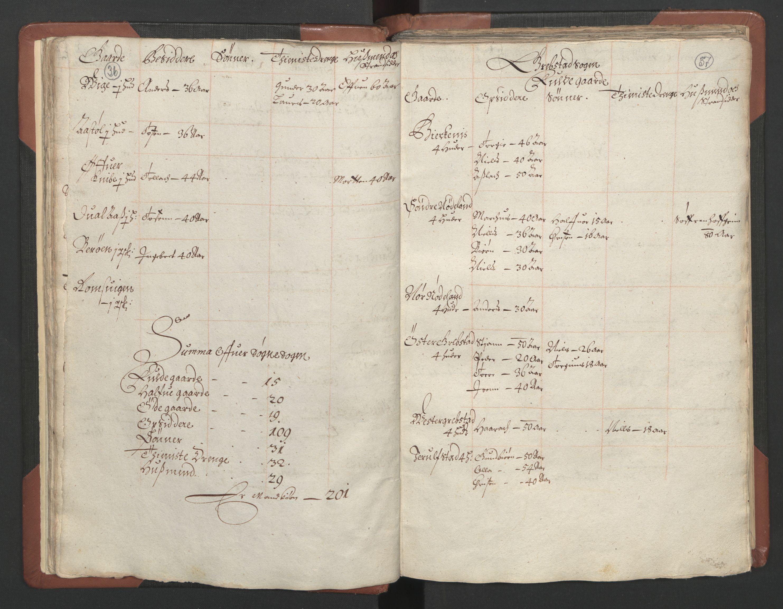 RA, Fogdenes og sorenskrivernes manntall 1664-1666, nr. 9: Mandal len, 1664-1666, s. 36-37