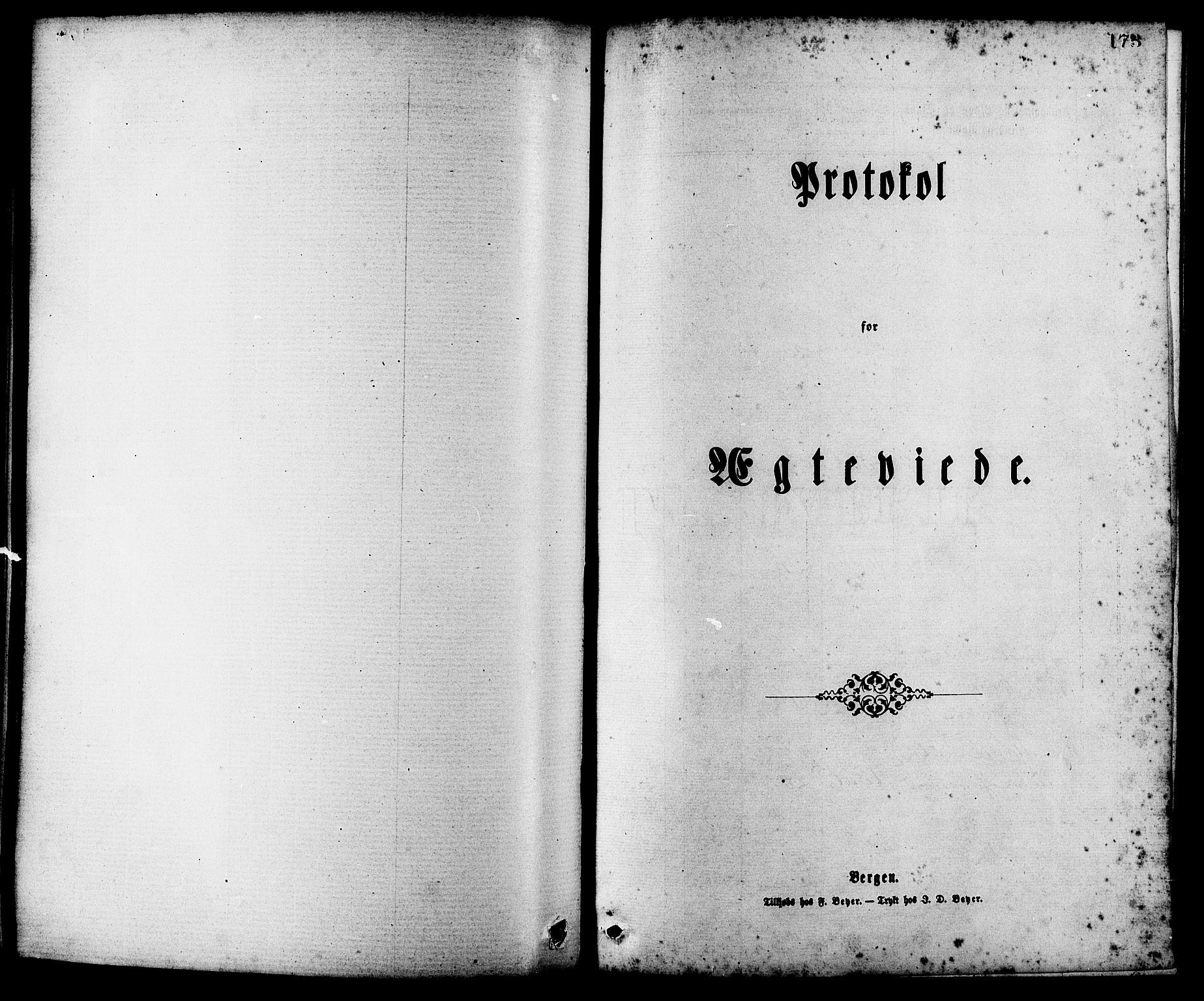 SAT, Ministerialprotokoller, klokkerbøker og fødselsregistre - Møre og Romsdal, 537/L0519: Ministerialbok nr. 537A03, 1876-1889, s. 173