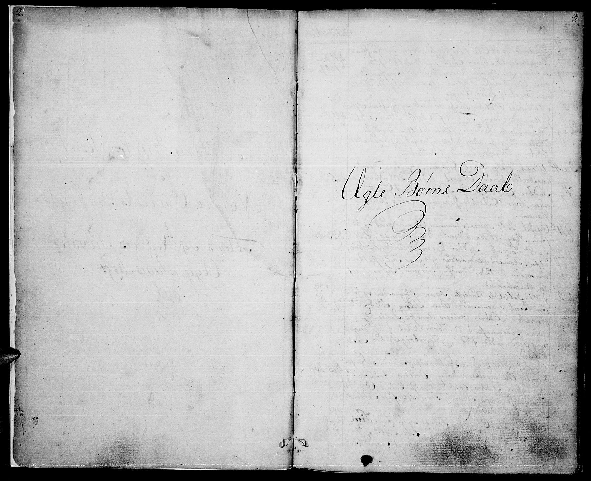 SAH, Nord-Aurdal prestekontor, Ministerialbok nr. 1, 1808-1815, s. 2-3