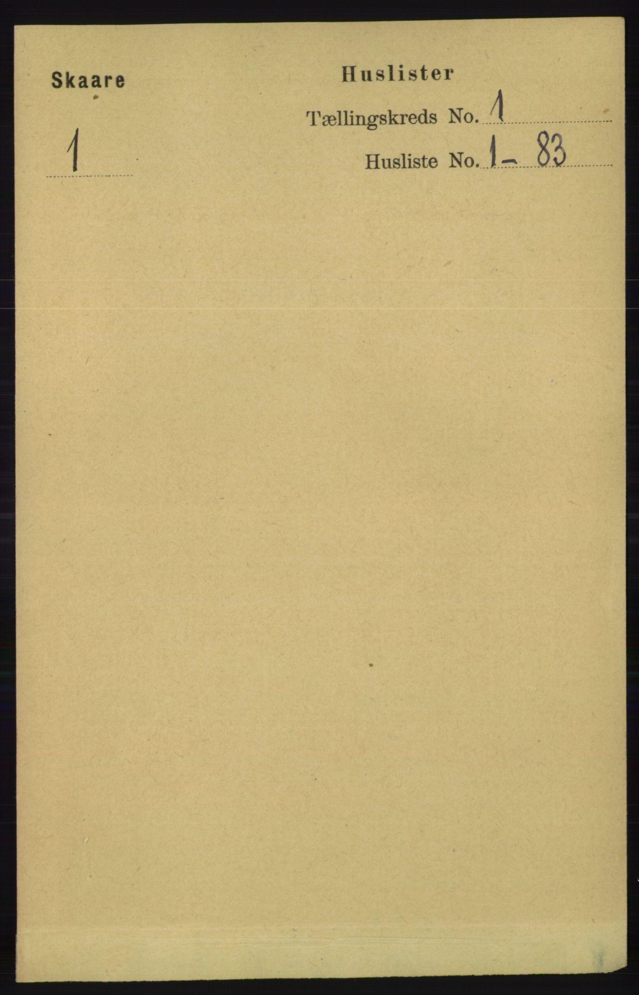 RA, Folketelling 1891 for 1153 Skåre herred, 1891, s. 17