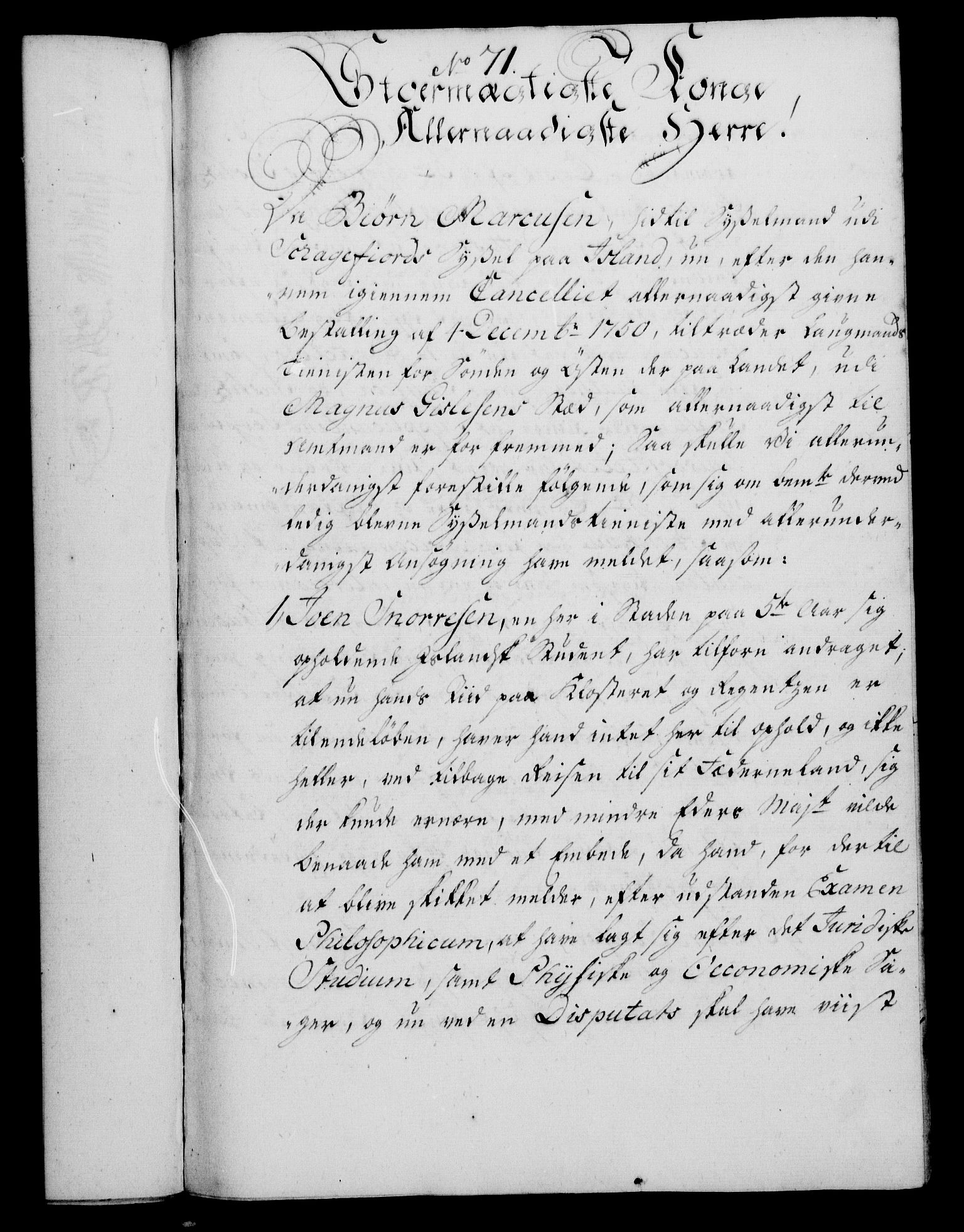 RA, Rentekammeret, Kammerkanselliet, G/Gf/Gfa/L0039: Norsk relasjons- og resolusjonsprotokoll (merket RK 52.39), 1757, s. 435