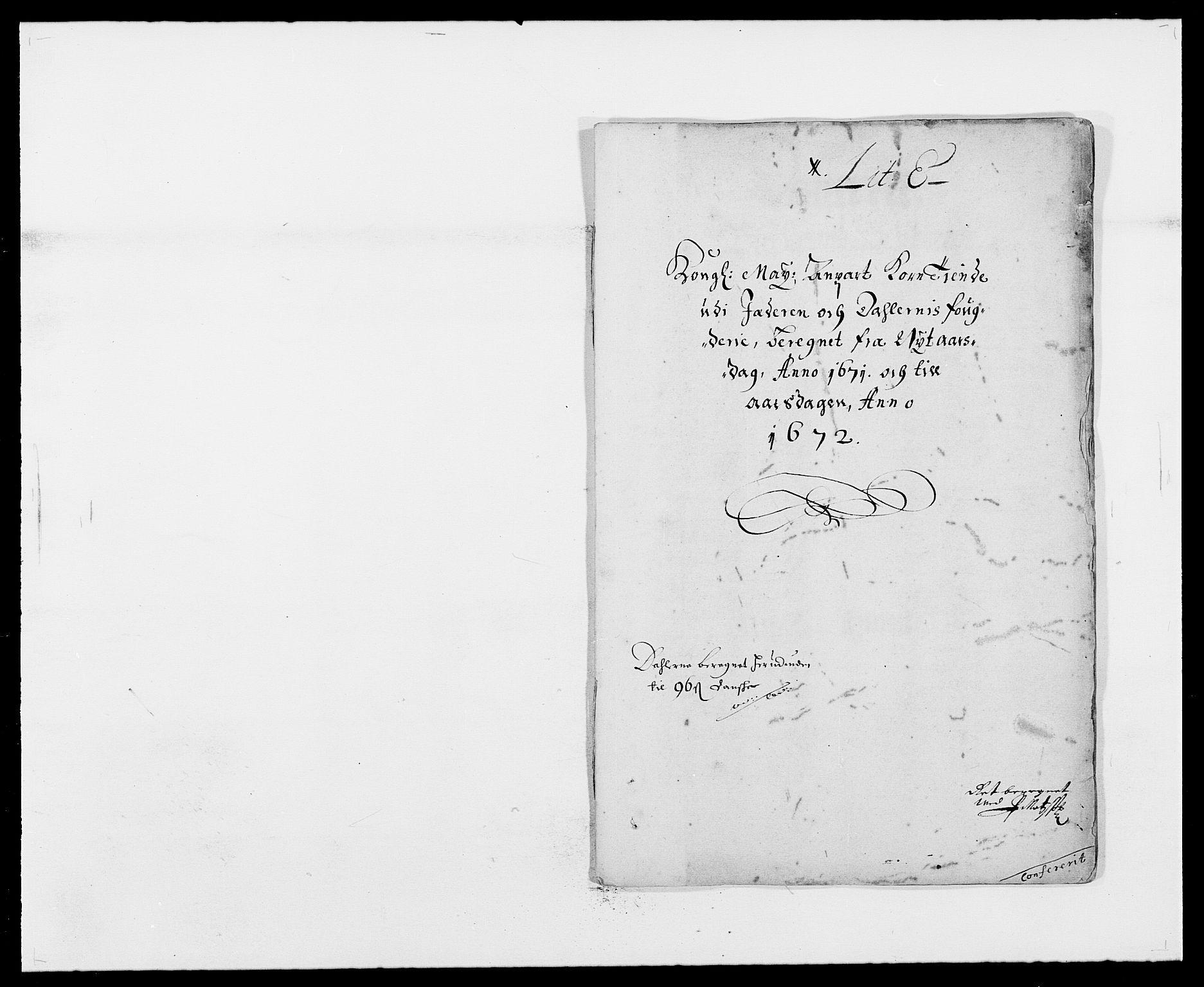 RA, Rentekammeret inntil 1814, Reviderte regnskaper, Fogderegnskap, R46/L2713: Fogderegnskap Jæren og Dalane, 1671-1672, s. 104