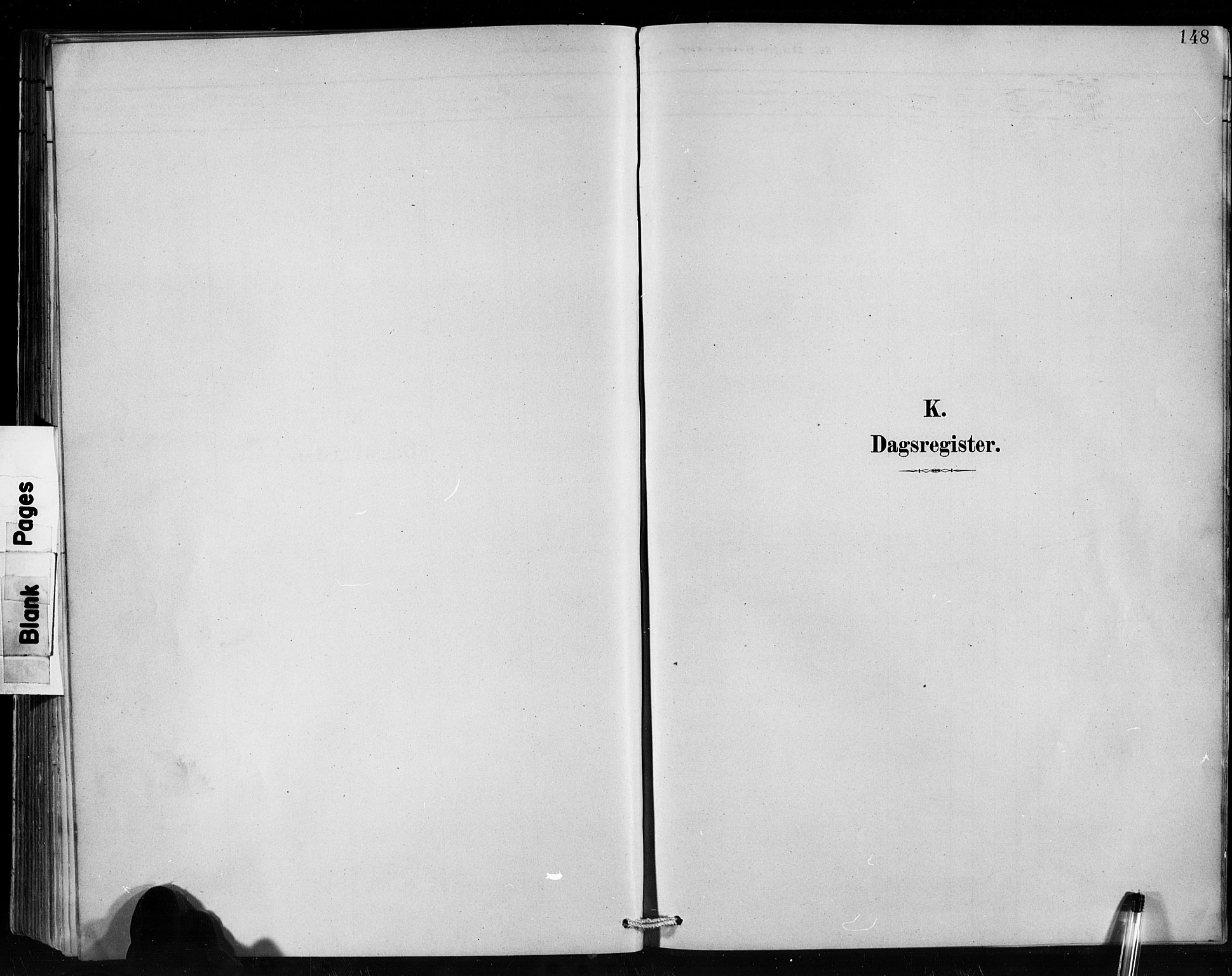 SAB, Hafslo Sokneprestembete, Klokkerbok nr. C 1, 1882-1908, s. 148
