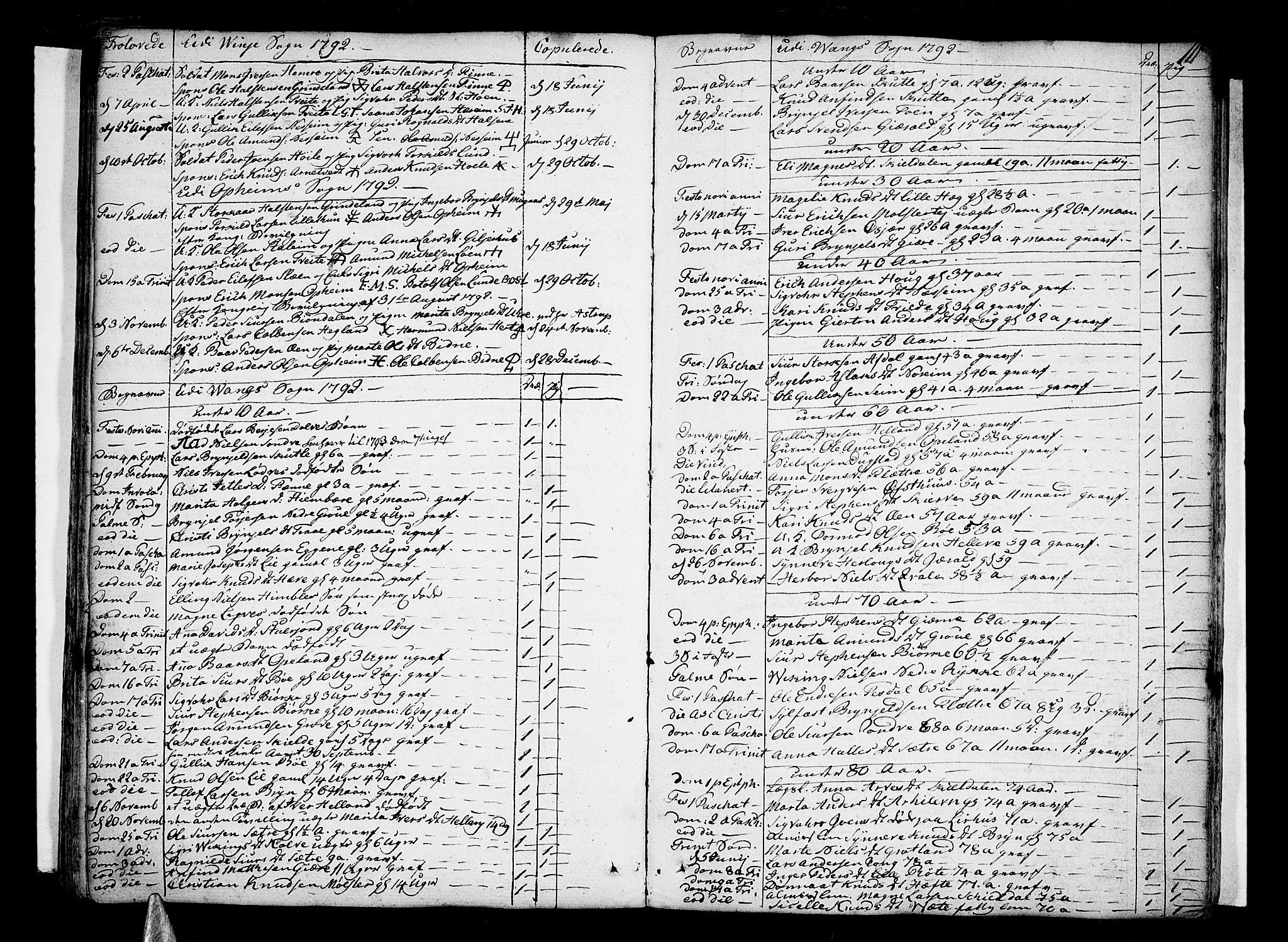 SAB, Voss Sokneprestembete, H/Haa: Ministerialbok nr. A 9, 1780-1810, s. 111