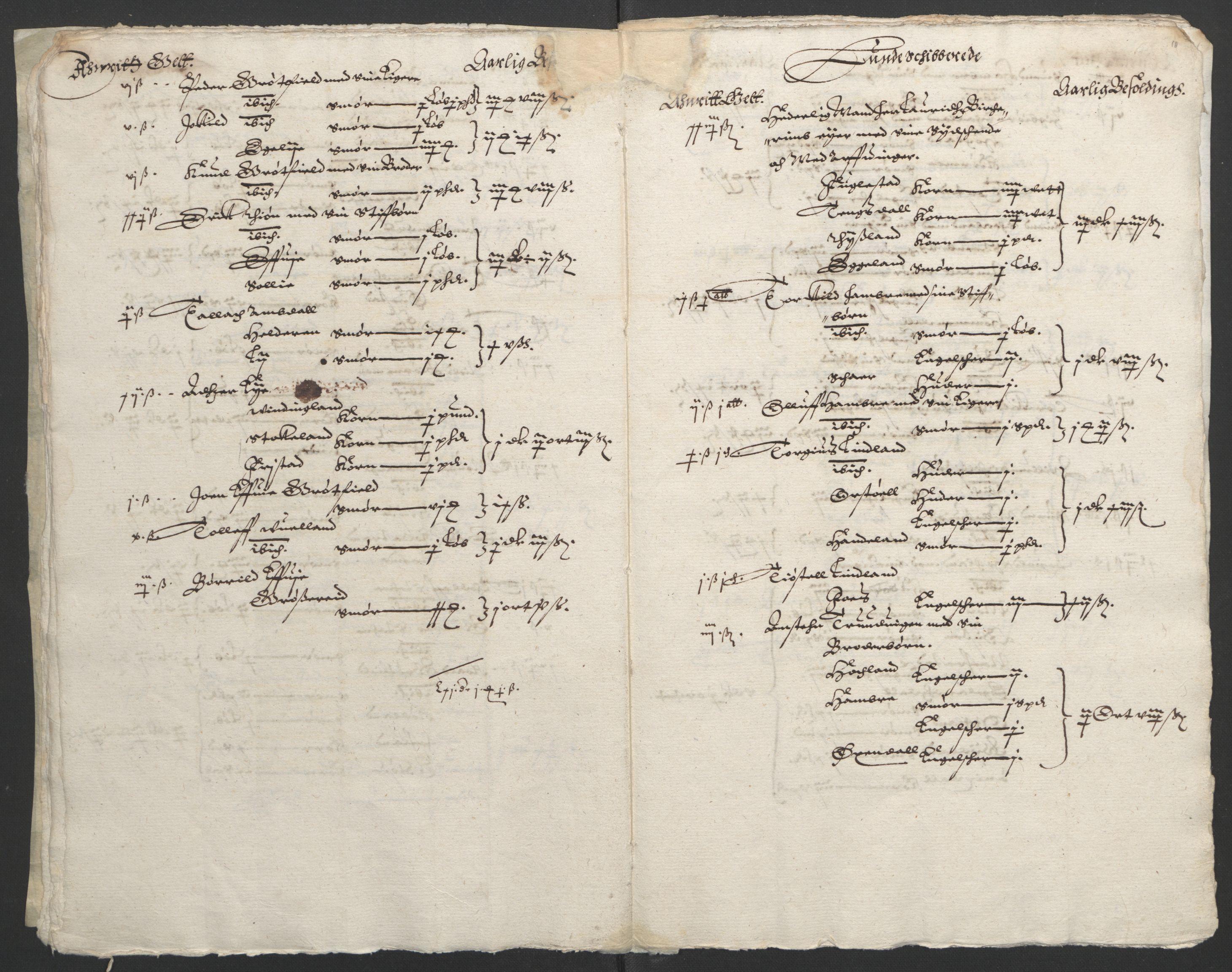 RA, Stattholderembetet 1572-1771, Ek/L0010: Jordebøker til utlikning av rosstjeneste 1624-1626:, 1624-1626, s. 105