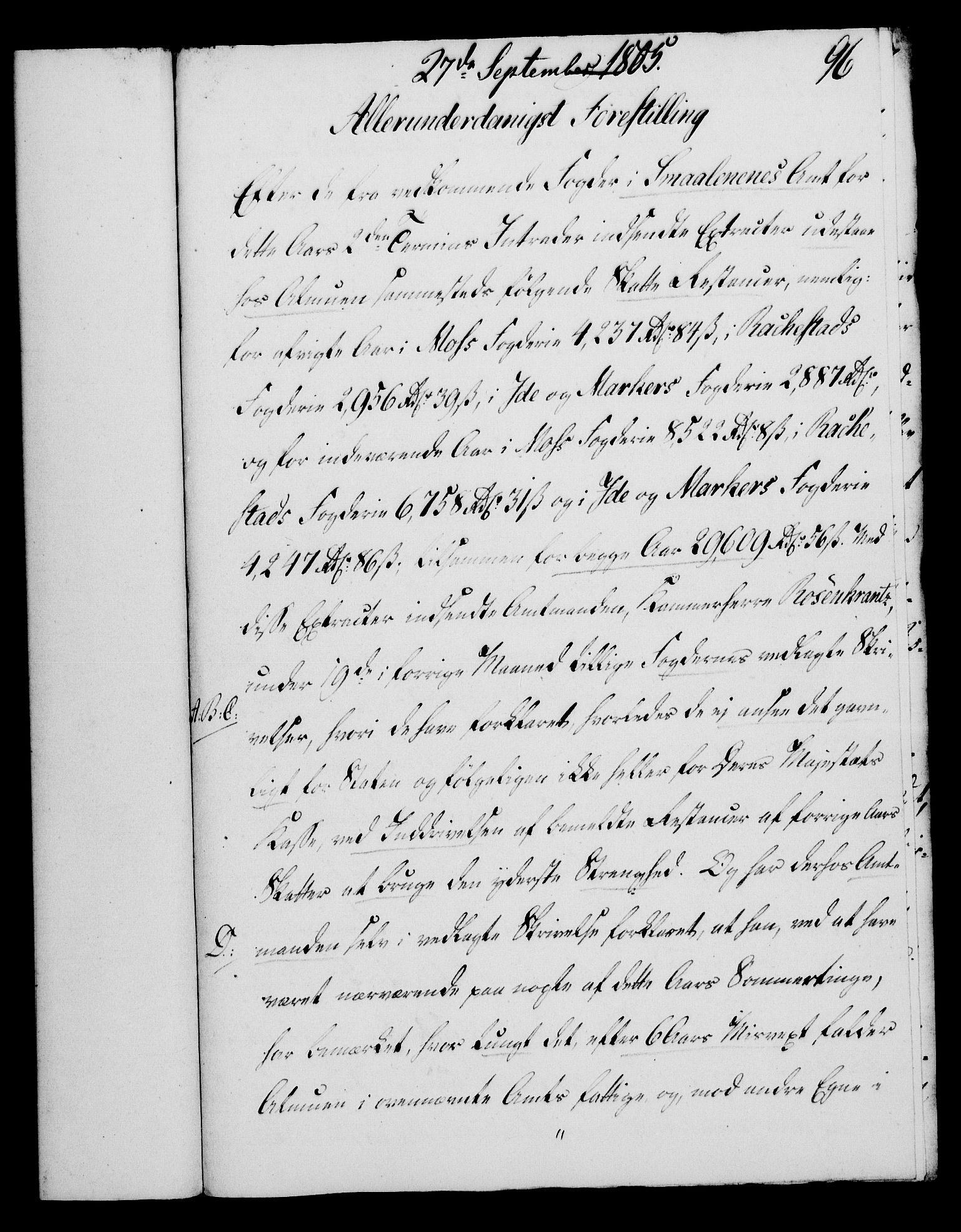RA, Rentekammeret, Kammerkanselliet, G/Gf/Gfa/L0087: Norsk relasjons- og resolusjonsprotokoll (merket RK 52.87), 1805, s. 541