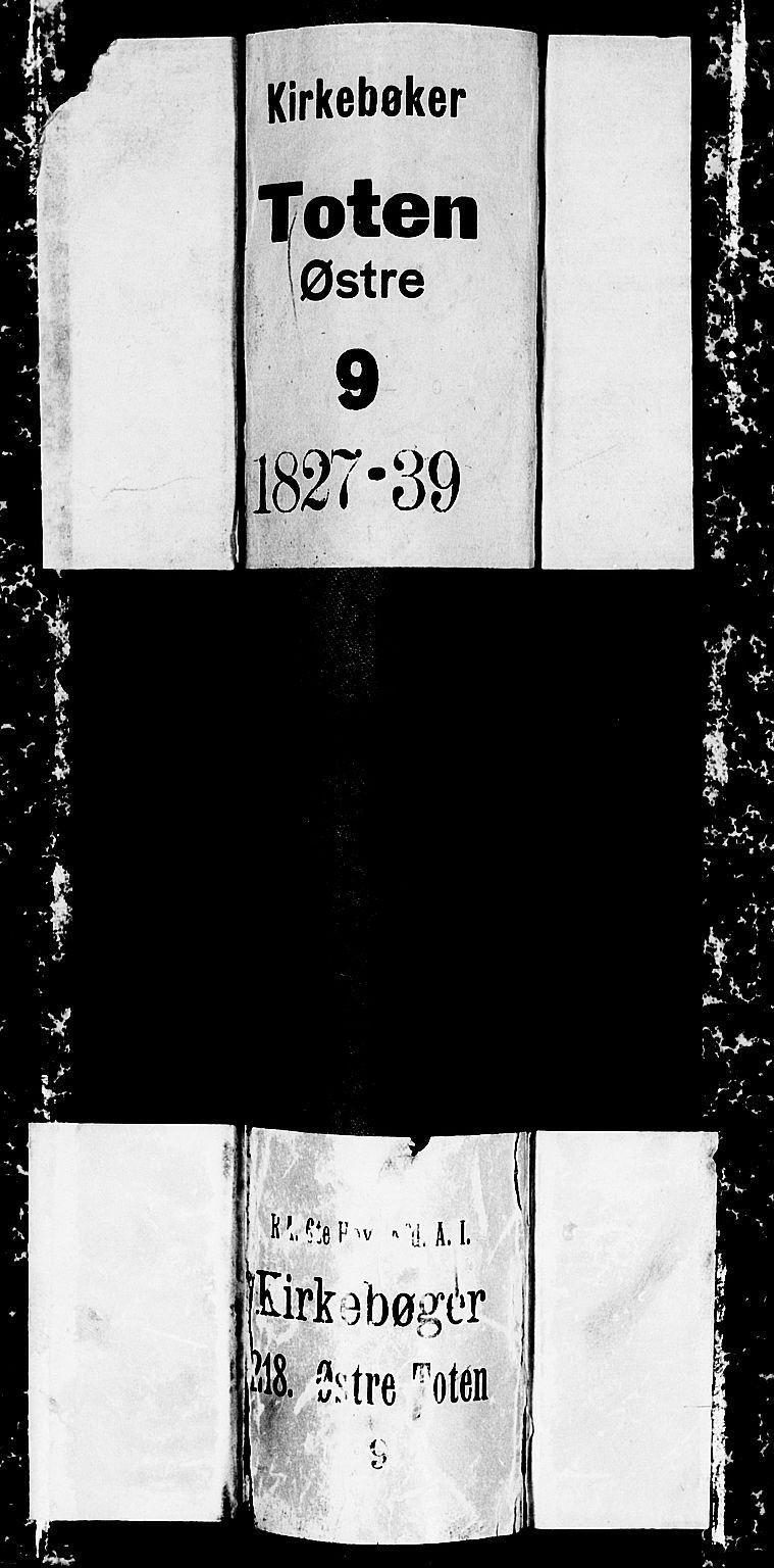 SAH, Østre Toten prestekontor, Klokkerbok nr. 1, 1827-1839