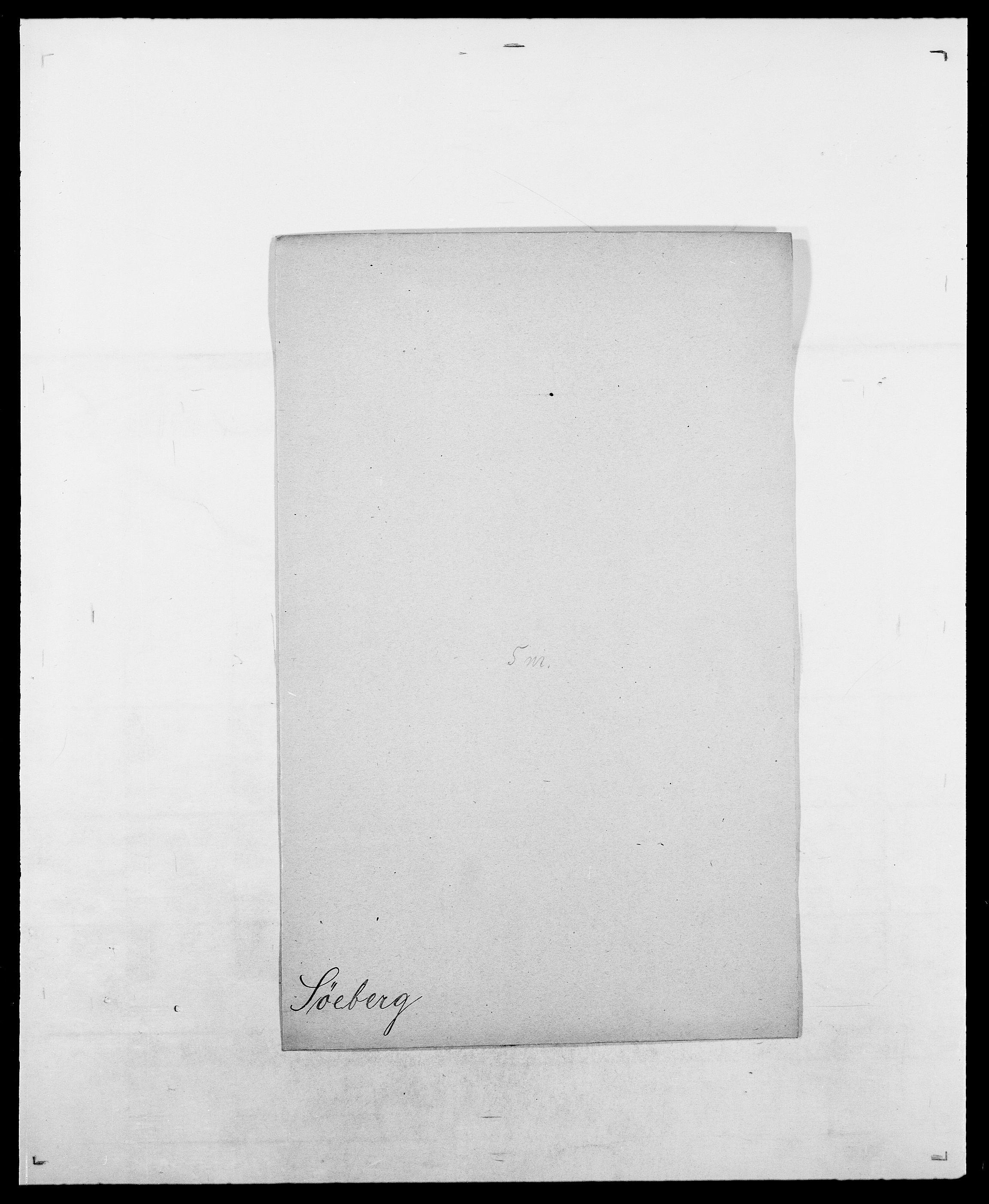 SAO, Delgobe, Charles Antoine - samling, D/Da/L0038: Svanenskjold - Thornsohn, s. 148