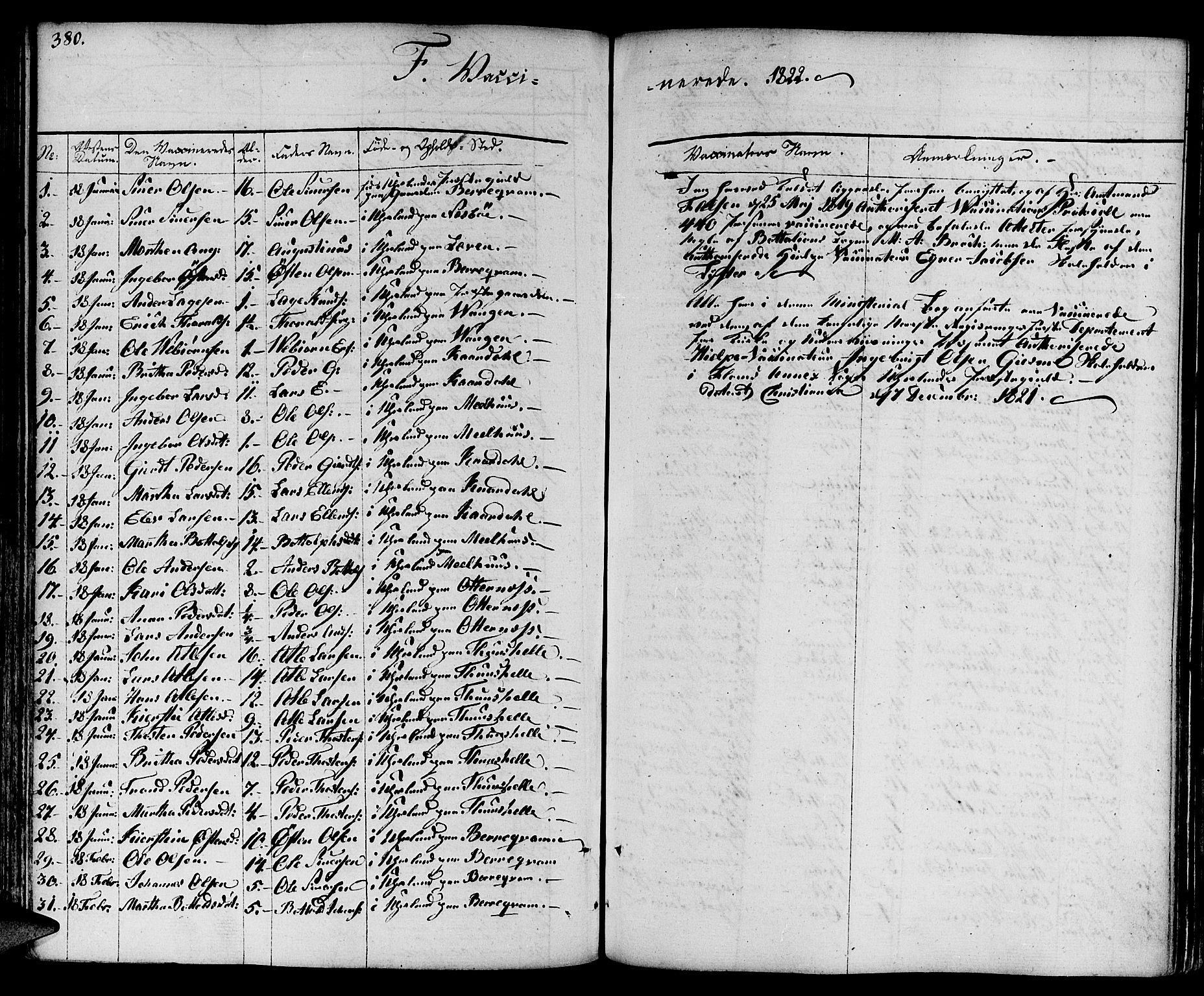 SAB, Aurland Sokneprestembete*, Ministerialbok nr. A 6, 1821-1859, s. 380