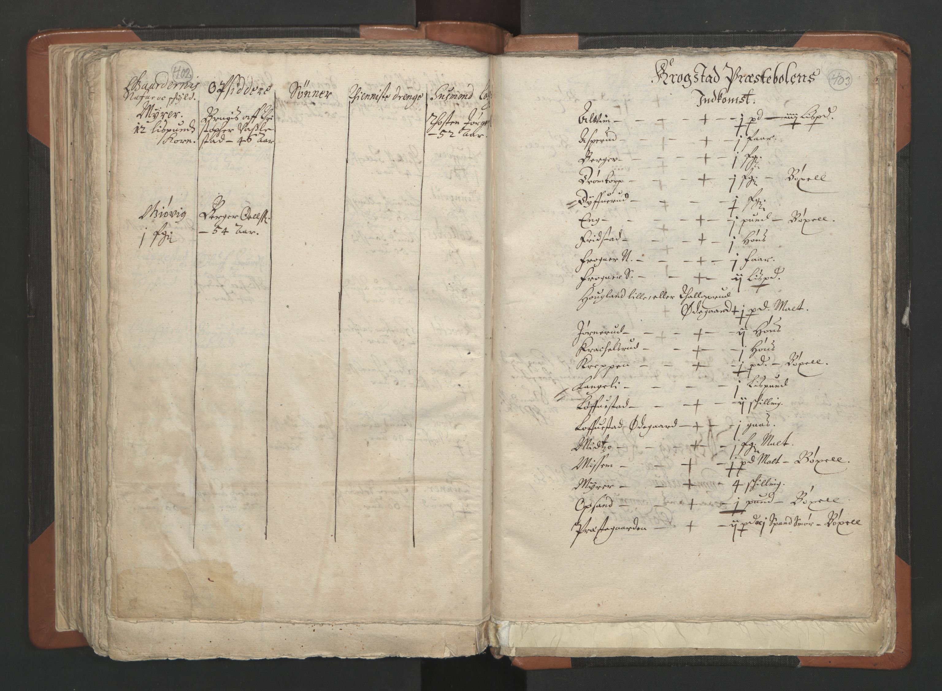 RA, Sogneprestenes manntall 1664-1666, nr. 2: Øvre Borgesyssel prosti, 1664-1666, s. 402-403
