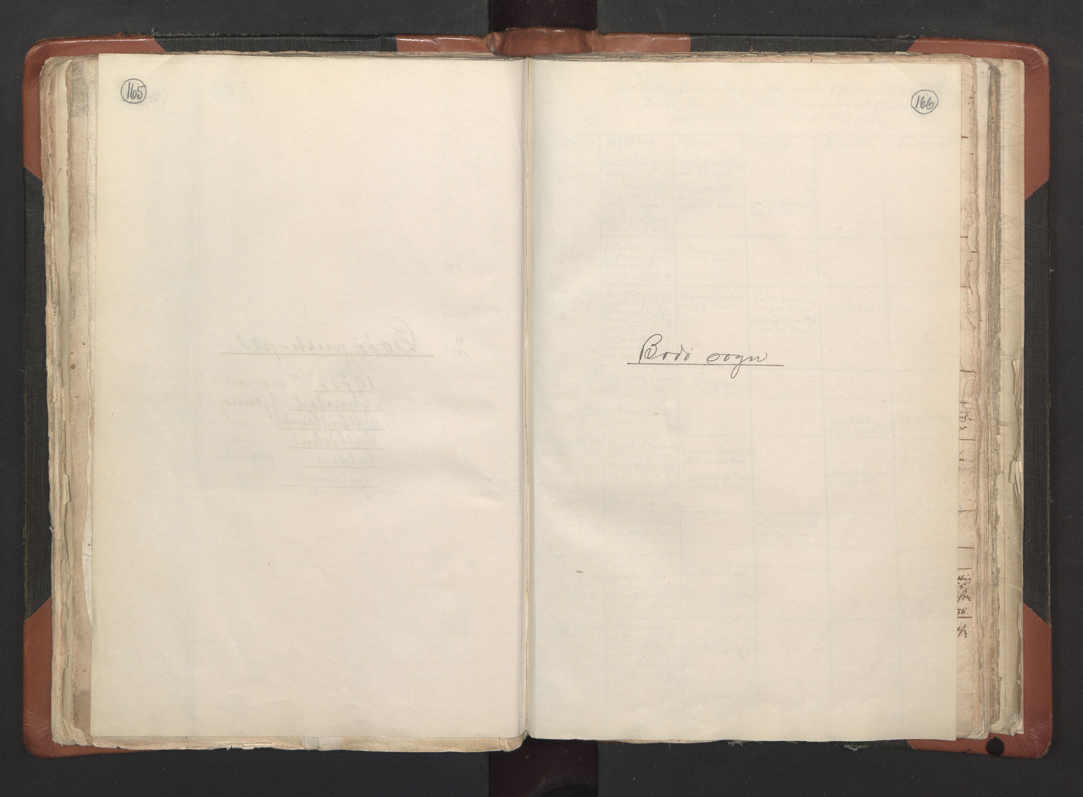 RA, Sogneprestenes manntall 1664-1666, nr. 35: Helgeland prosti og Salten prosti, 1664-1666, s. 165-166