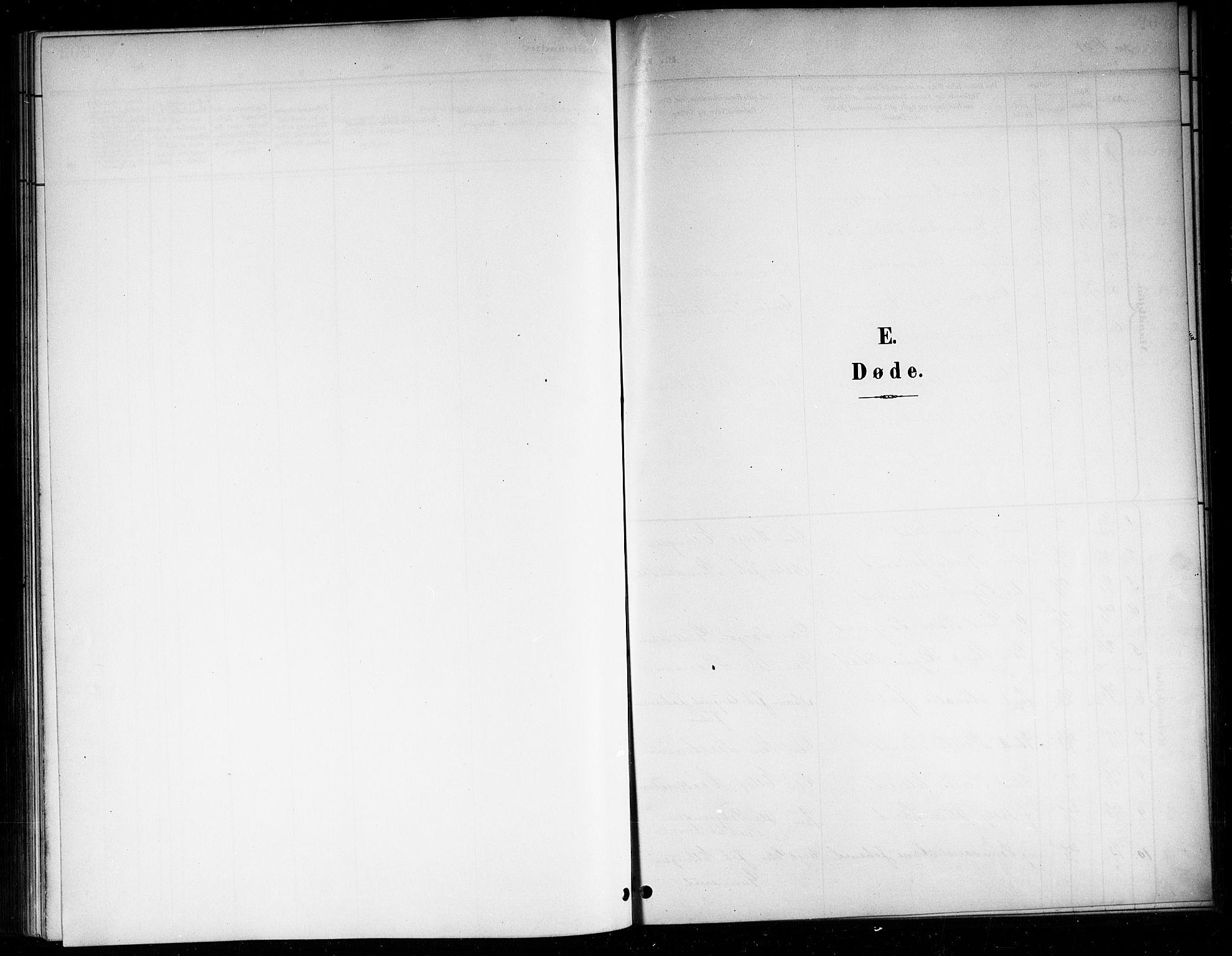 SAKO, Sigdal kirkebøker, G/Ga/L0006: Klokkerbok nr. I 6, 1901-1916